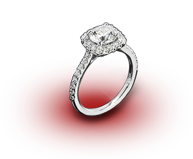 Unique Engagement Rings - White Flash -- Wedding Blog - The Overwhelmed Bride