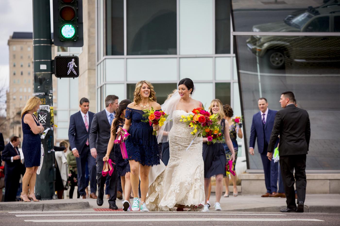 Vibrant Denver, Colorado City Hall Wedding -- Wedding Inspiration - The Overwhelmed Bride
