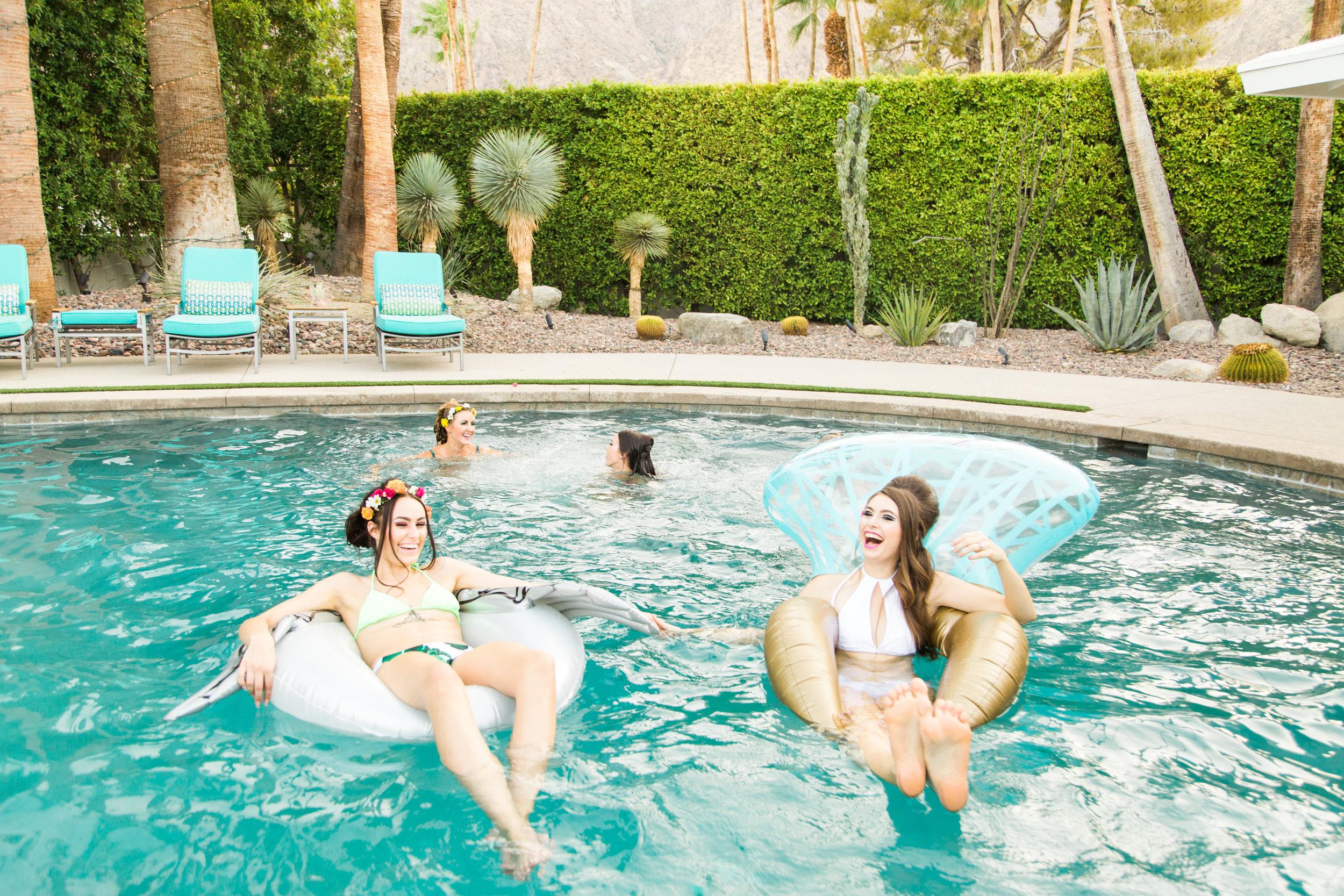 Palm Springs Bachelorette Party - Old Las Palmas Bachelorette Party - 60's Bachelorette Party