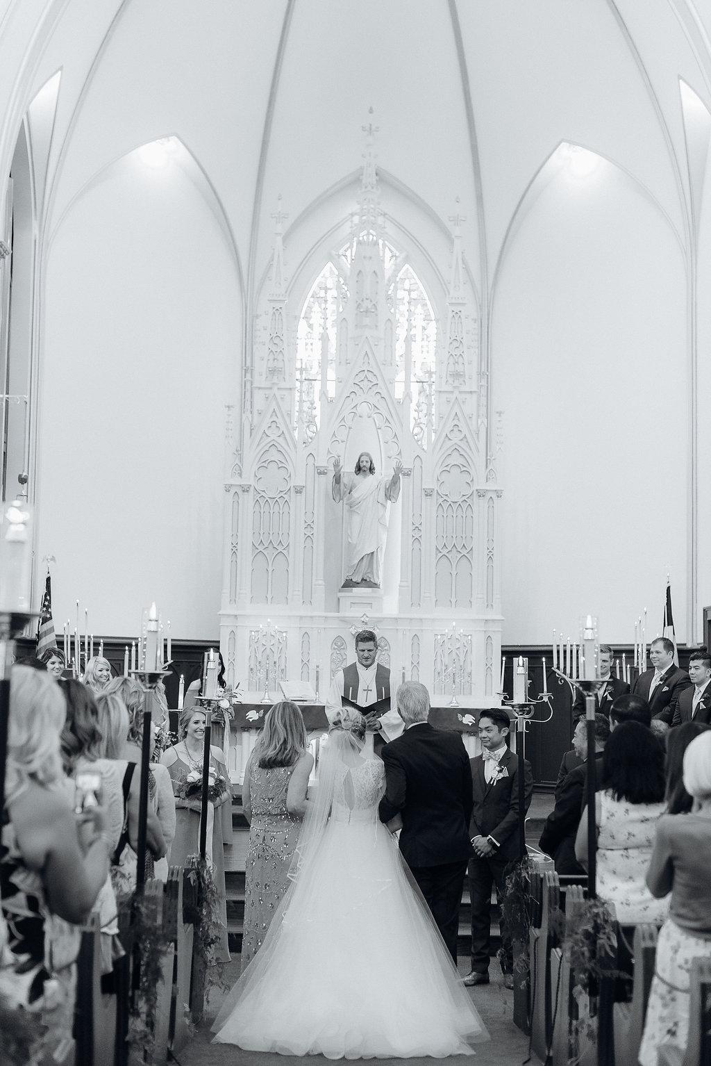 St. John's Lutheran Church of Orange Wedding Ceremony -- Wedding Blog - The Overwhelmed Bride