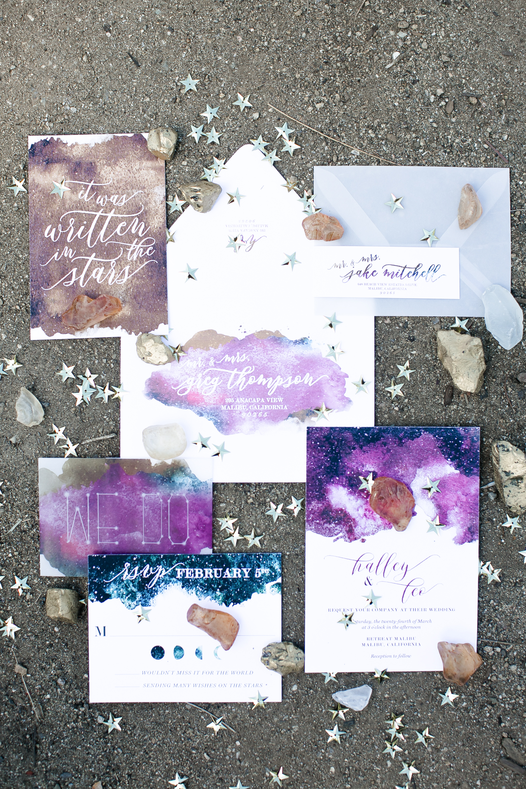Watercolor Wedding Invitations - David's Bridal