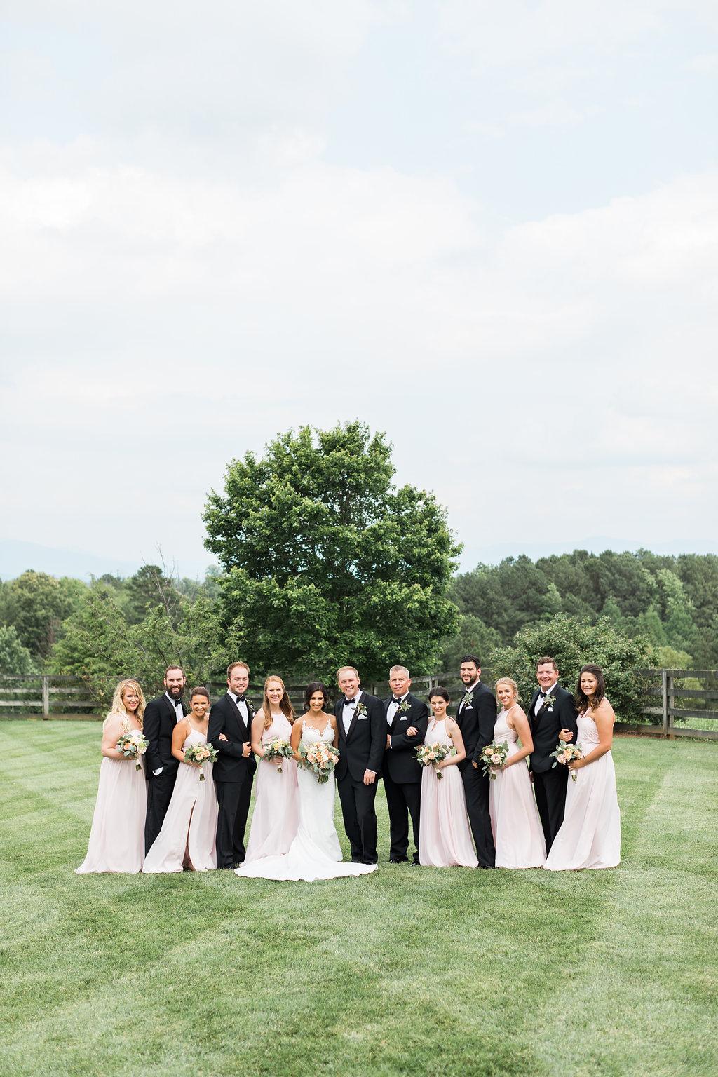 Northern Georgia Wedding Venue - Walnut Hill Farm Wedding - Simplistic Wedding Details