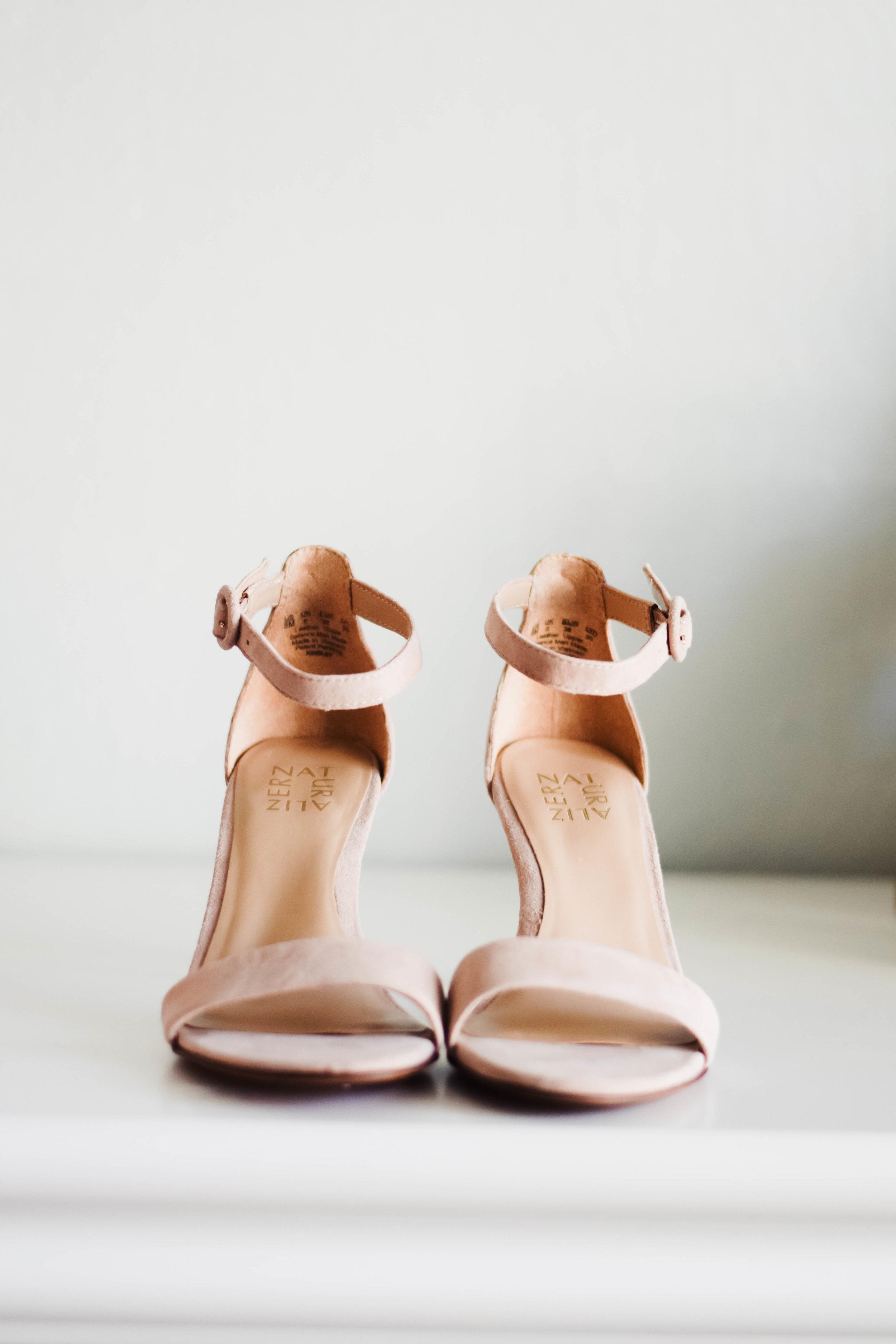 Comfortable Wedding Heels - Comfortable Bridal Heels - Naturalizer - The Overwhelmed Bride Wedding Blog