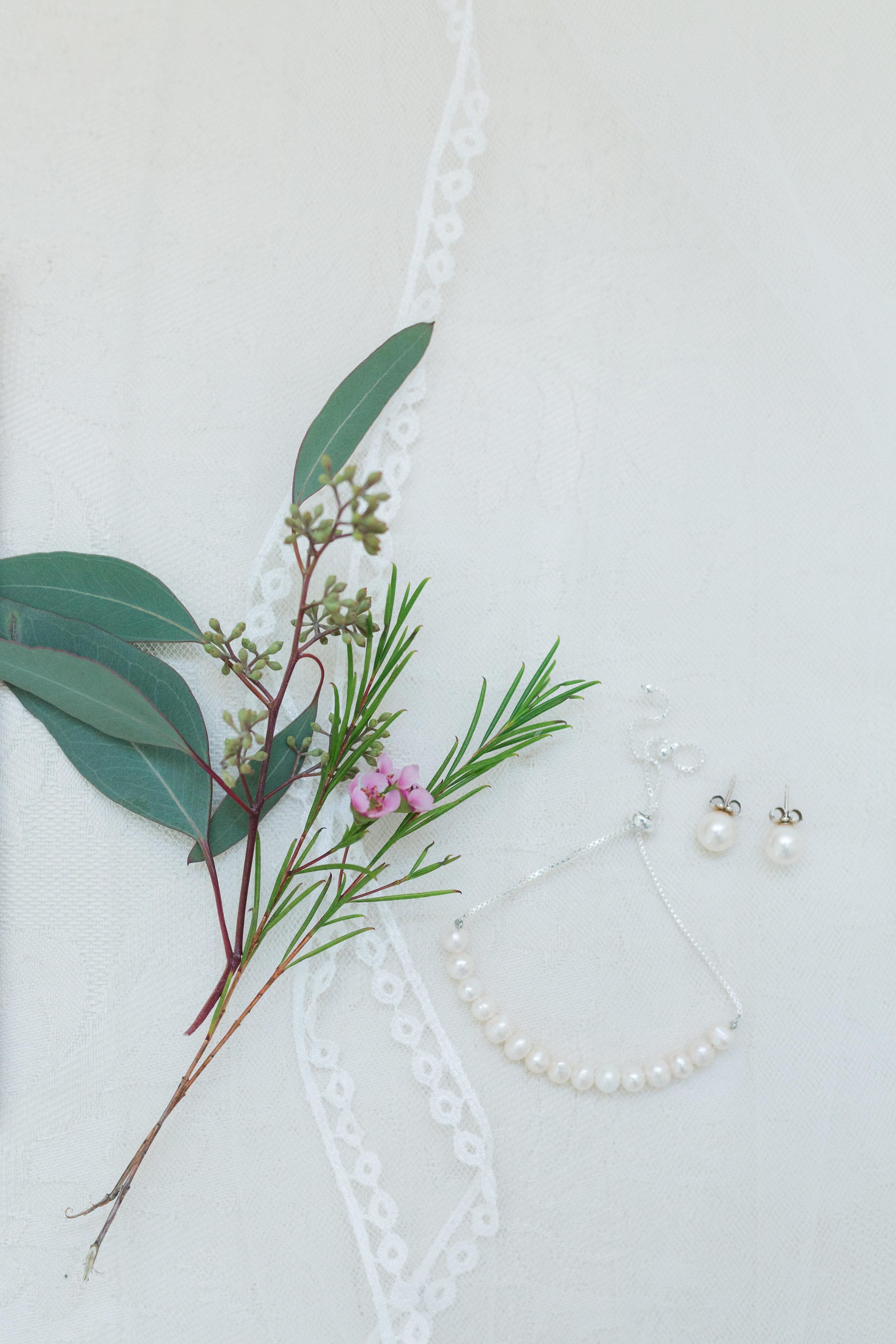 Pearl Bridal Jewelry - Heritage House - Georgetown, Texas Wedding Venue