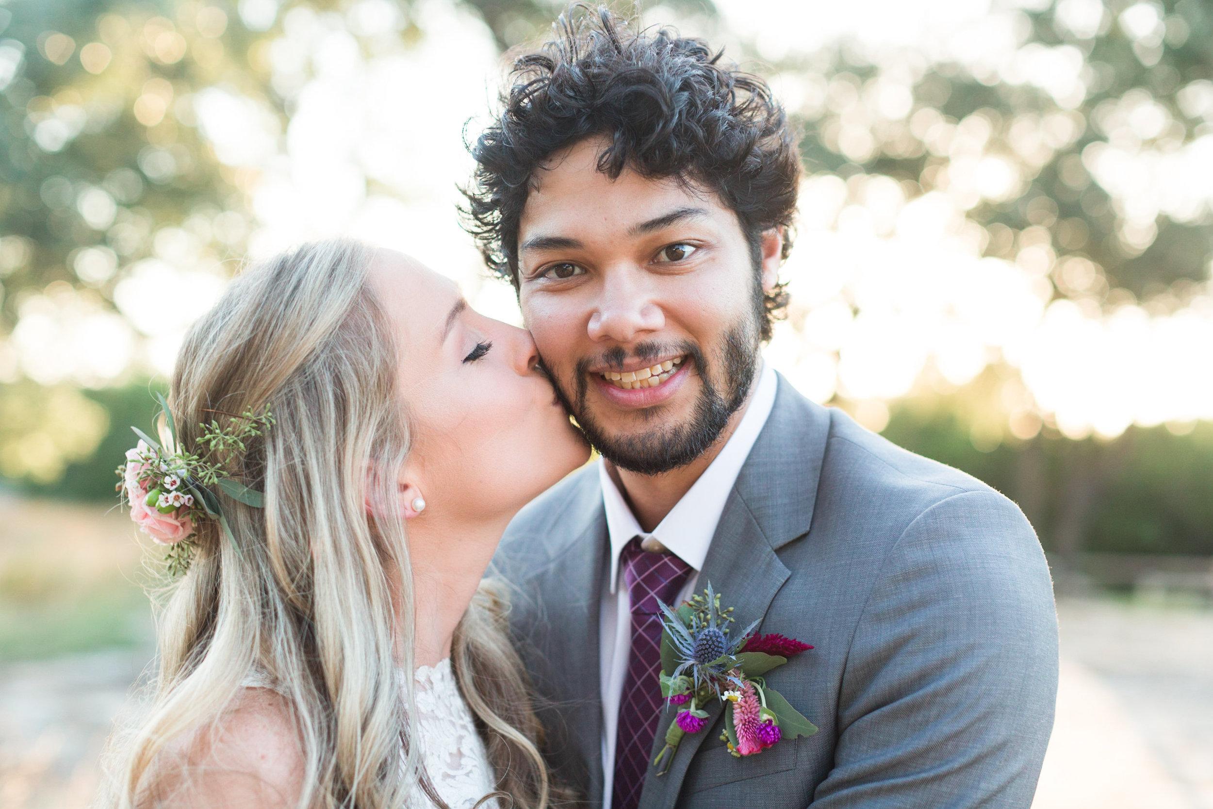 Half Up Half Down Bridal Hairstyles - Heritage House Wedding - Georgetown, Texas Wedding Venue