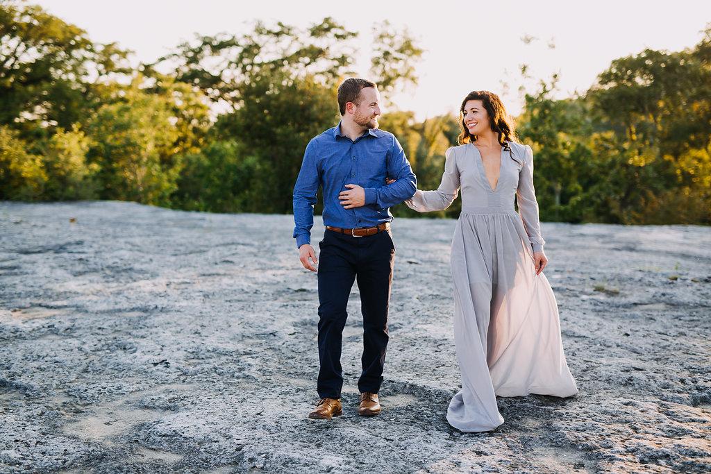 Austin, Texas Wedding Photographer - McKinney Falls State Park Engagement Photos