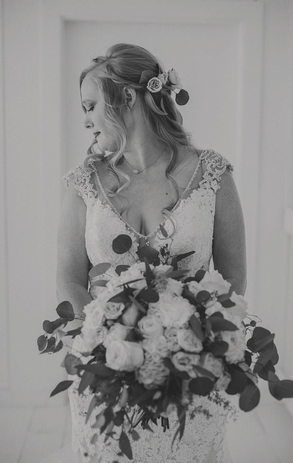 Gorgeous Wedding Bouquet - The Grand Ivory Wedding - Leonard, Texas Wedding Venue