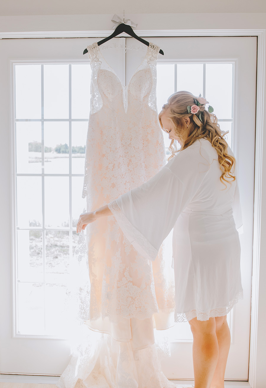 Lace Wedding Dress - The Grand Ivory Wedding - Leonard, Texas Wedding Venue