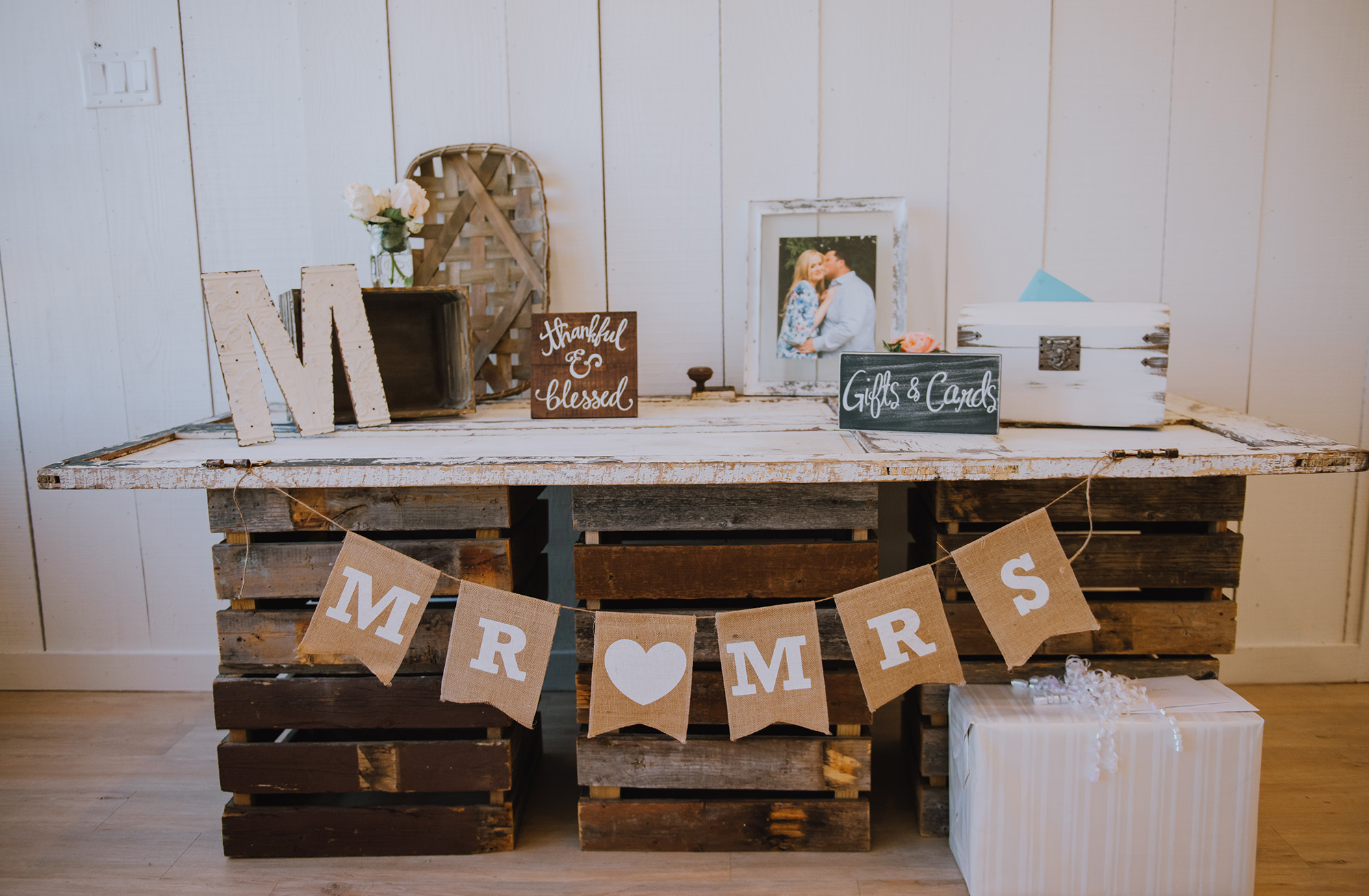 Rustic Wedding Decor Ideas - Leonard, Texas Wedding Venue - The Grand Ivory Wedding