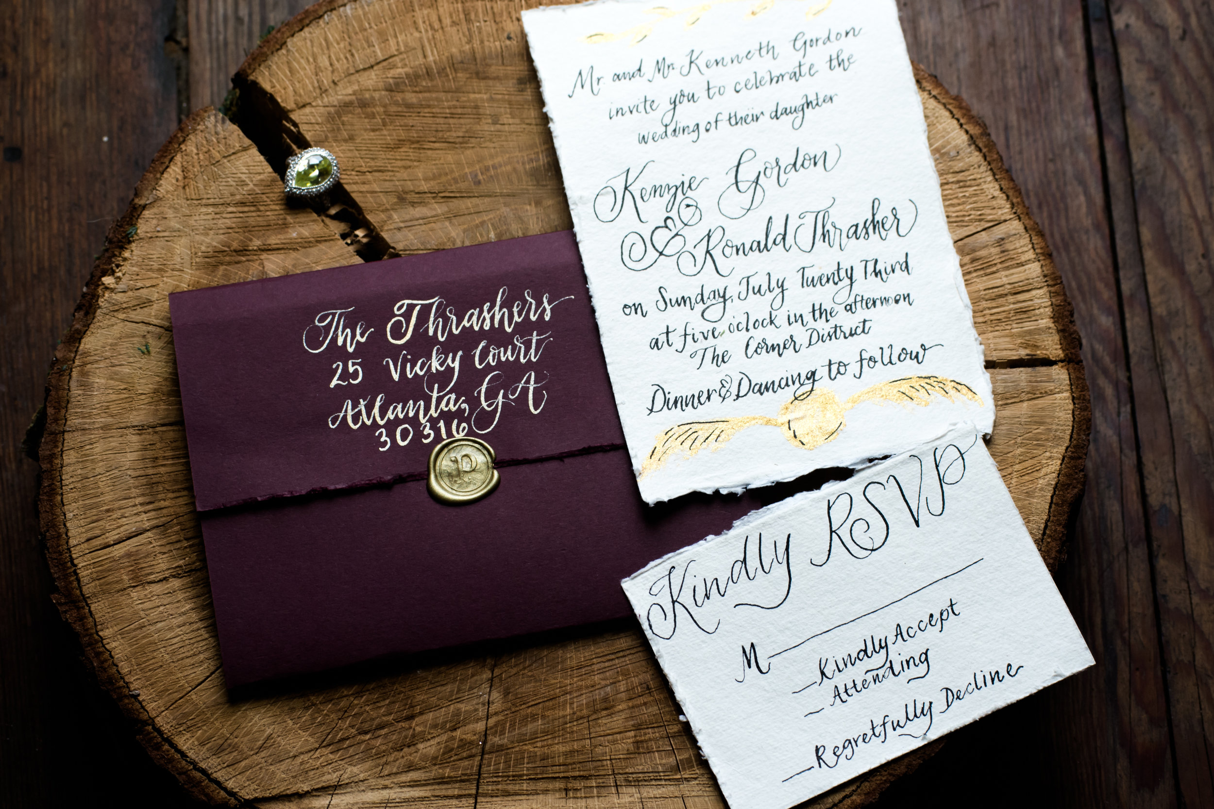 Harry Potter Wedding Ideas