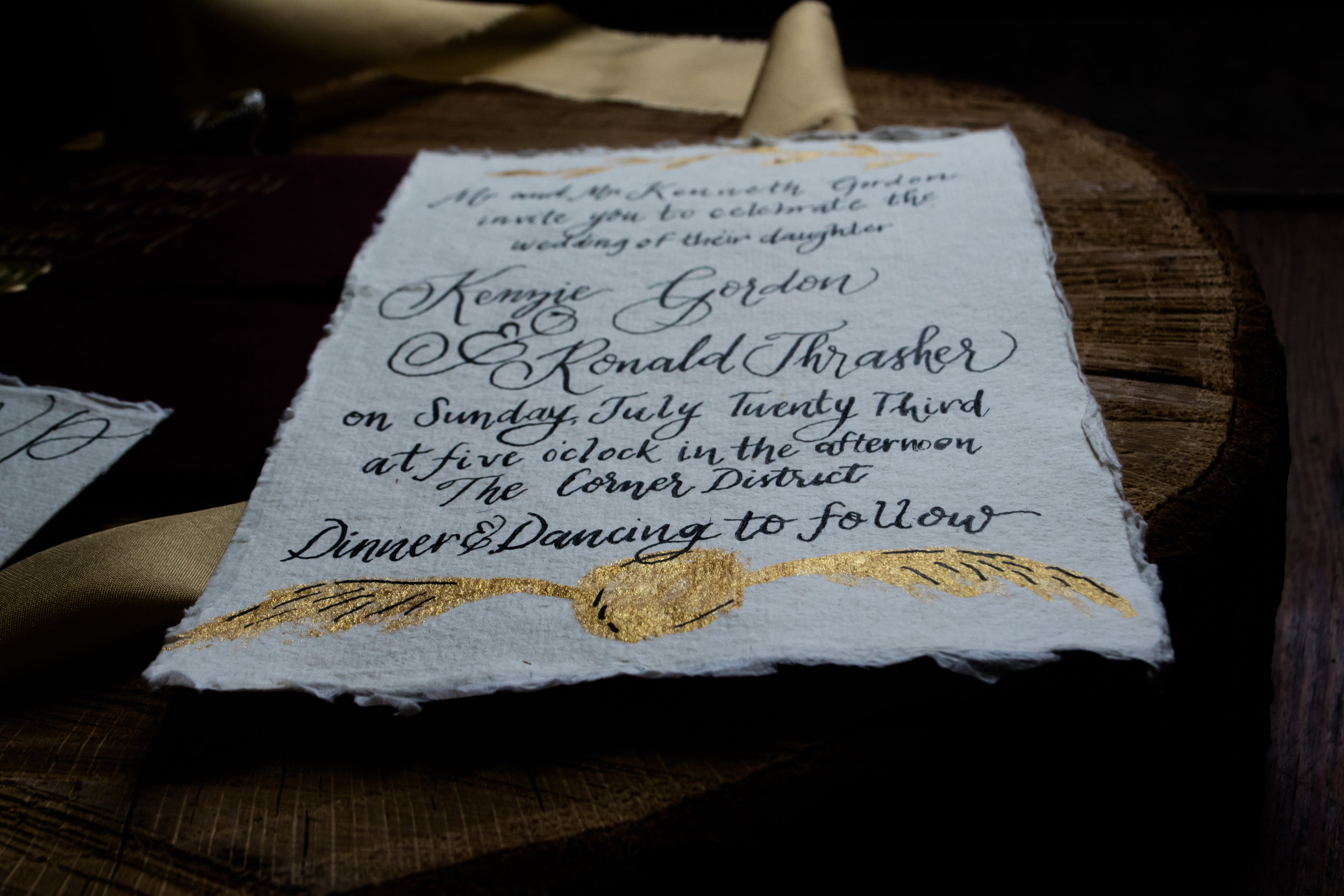 Harry Potter Wedding Decor - Fall Wedding Ideas
