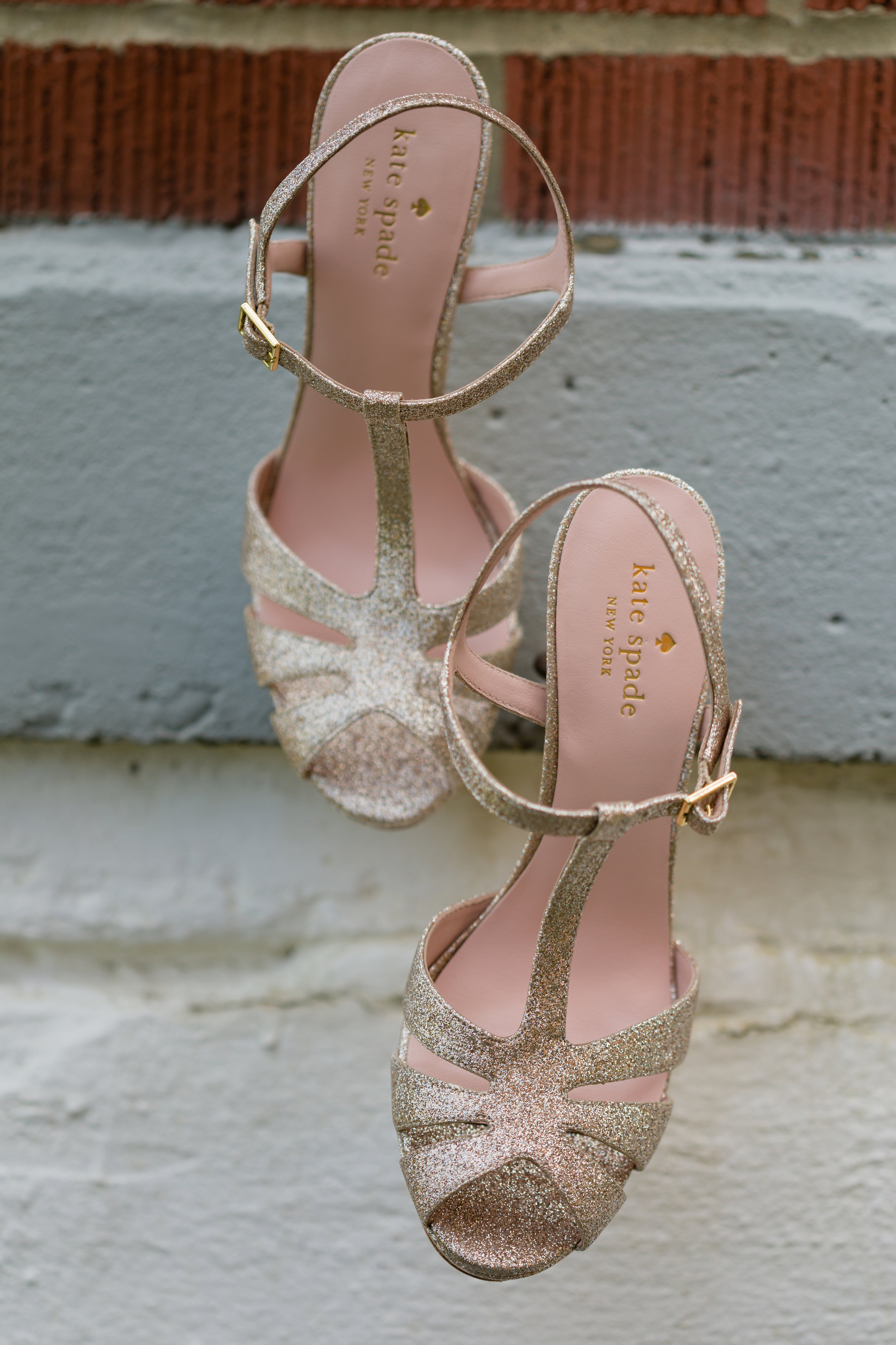 Gold Wedding shoes -Pittsburgh Wedding Venue - Duquesne University Wedding