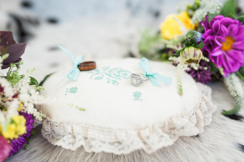 Gorgeous Engagement Rings - Iowa Farm Wedding - Private Estate Weddings