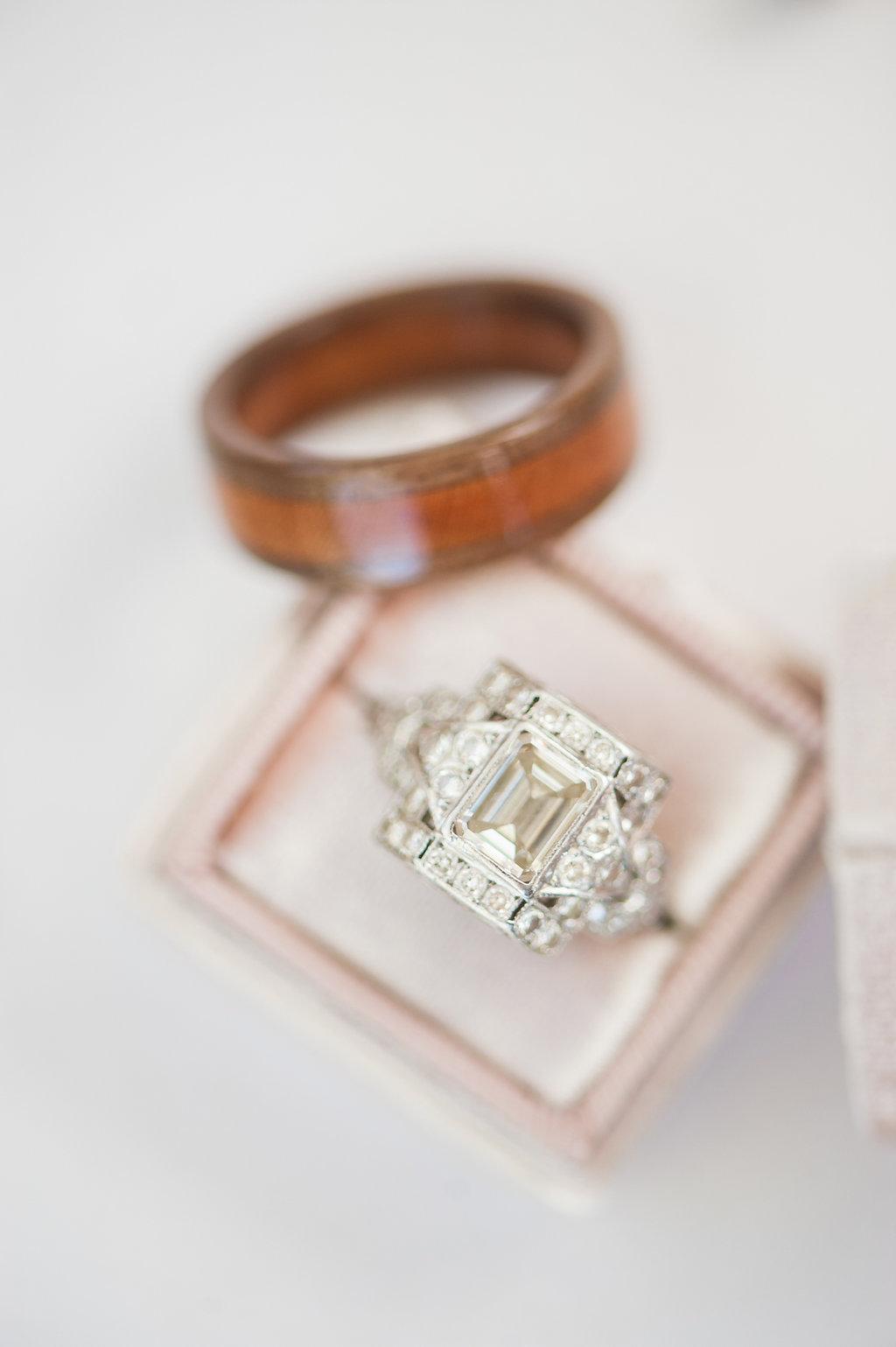 Unique Engagement Rings - Iowa Farm Wedding - Private Estate Weddings