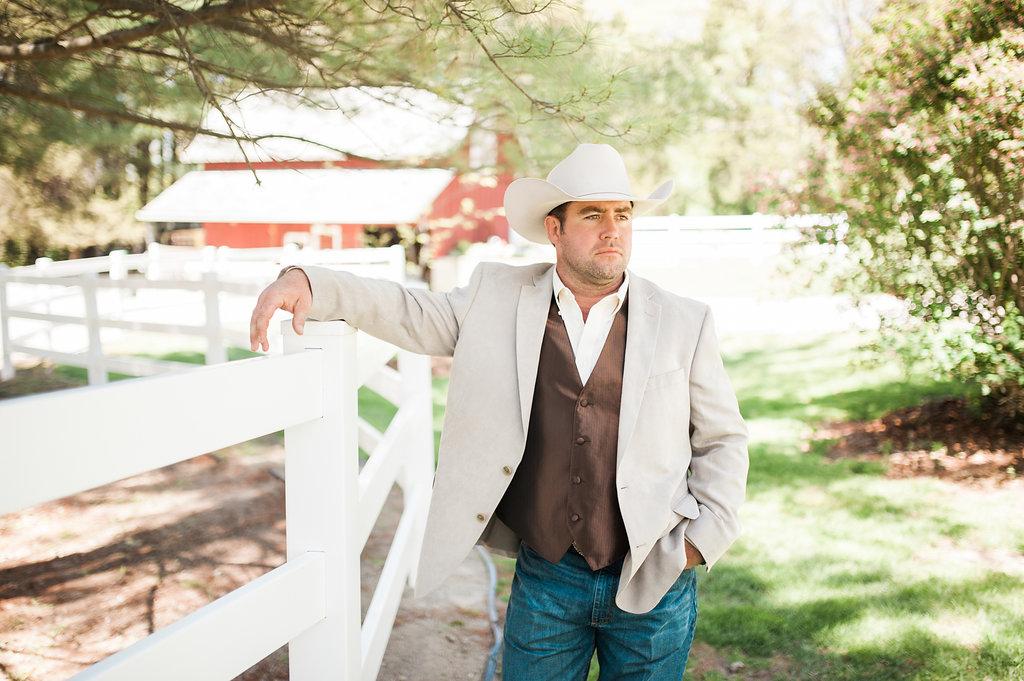 Farm Wedding Groom Attire - Iowa Farm Wedding - Private Estate Weddings