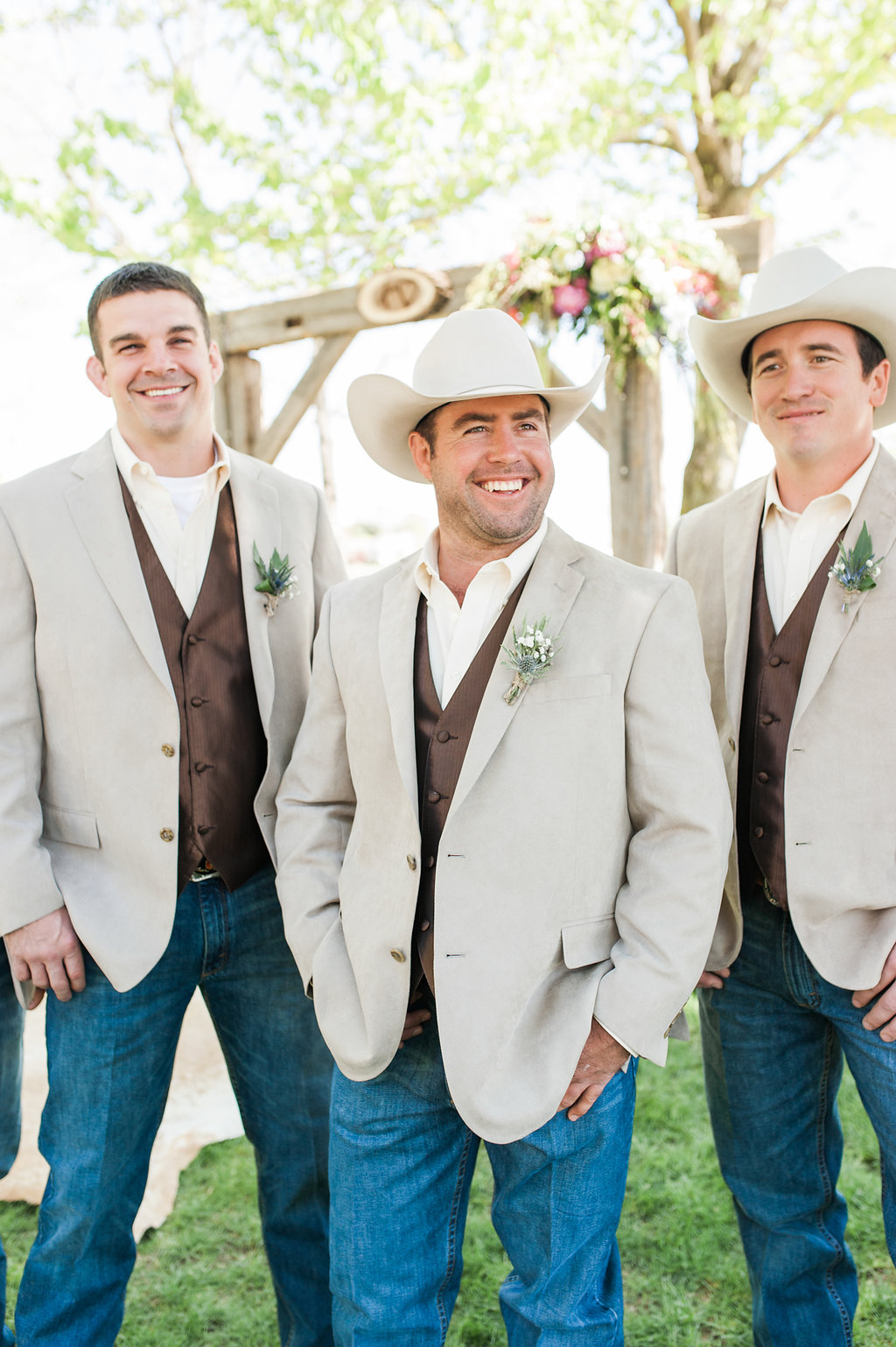 Farm Groomsmen Attire - Iowa Farm Wedding - Private Estate Weddings