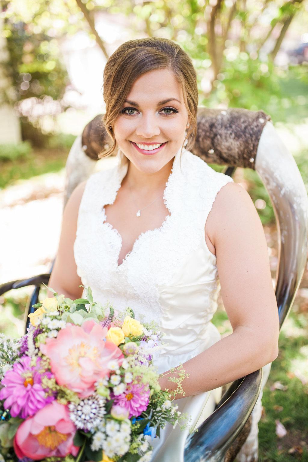 Farm Wedding Dress - Iowa Farm Wedding - Private Estate Weddings