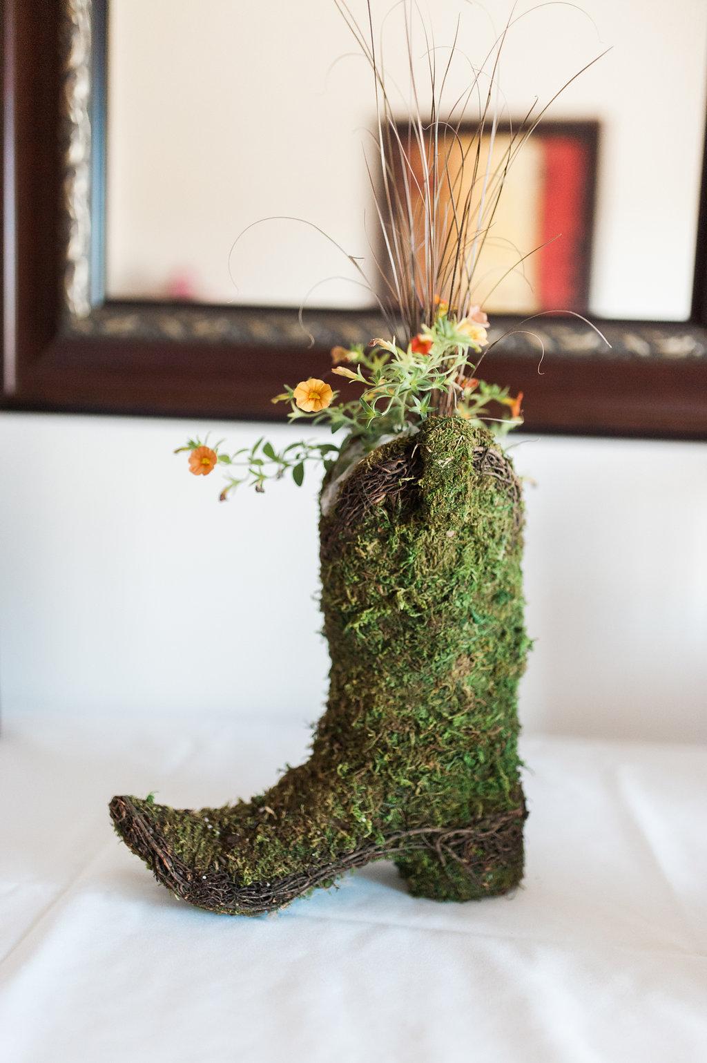 Farm Wedding Decor - Iowa Farm Wedding - Private Estate Weddings