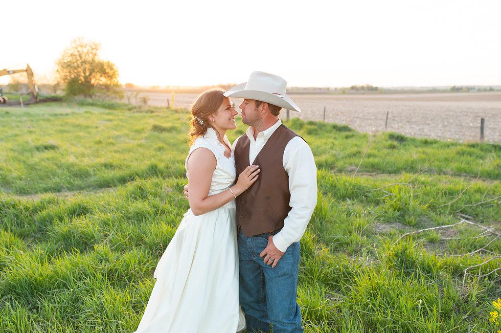 Gorgeous Farm Wedding Photos - Farm Wedding Decor - Iowa Farm Wedding - Private Estate Weddings