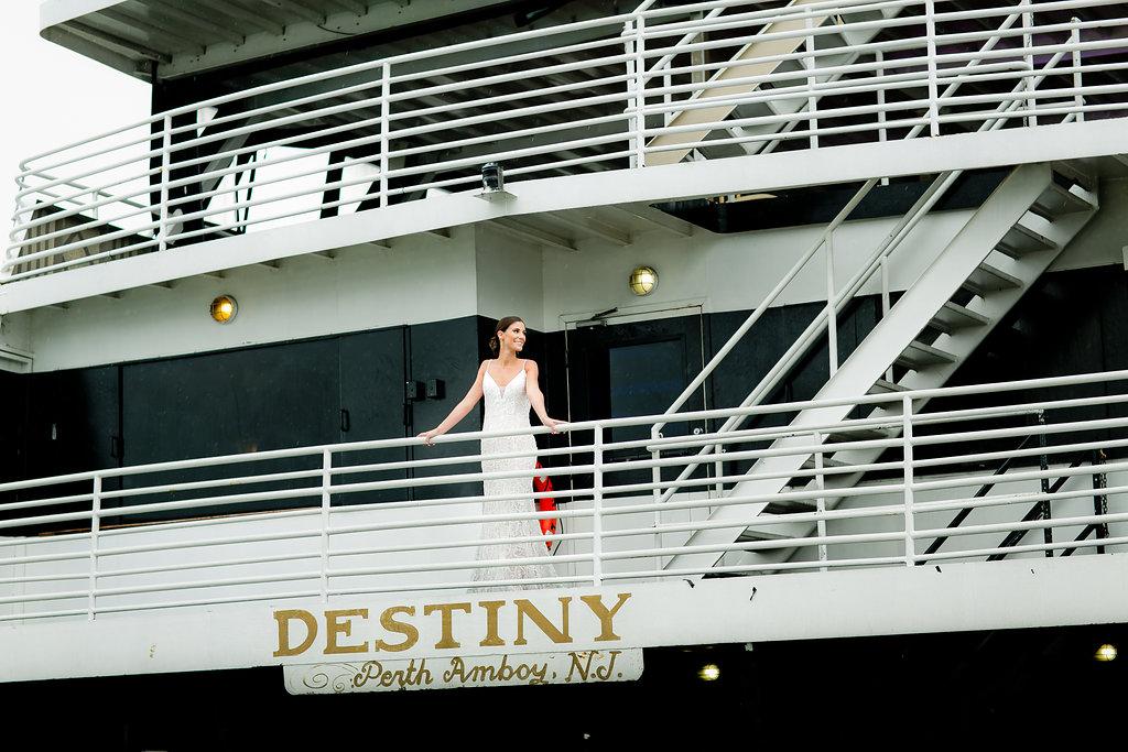 Gorgeous Flowy Wedding Dresses - Yacht Wedding Venues