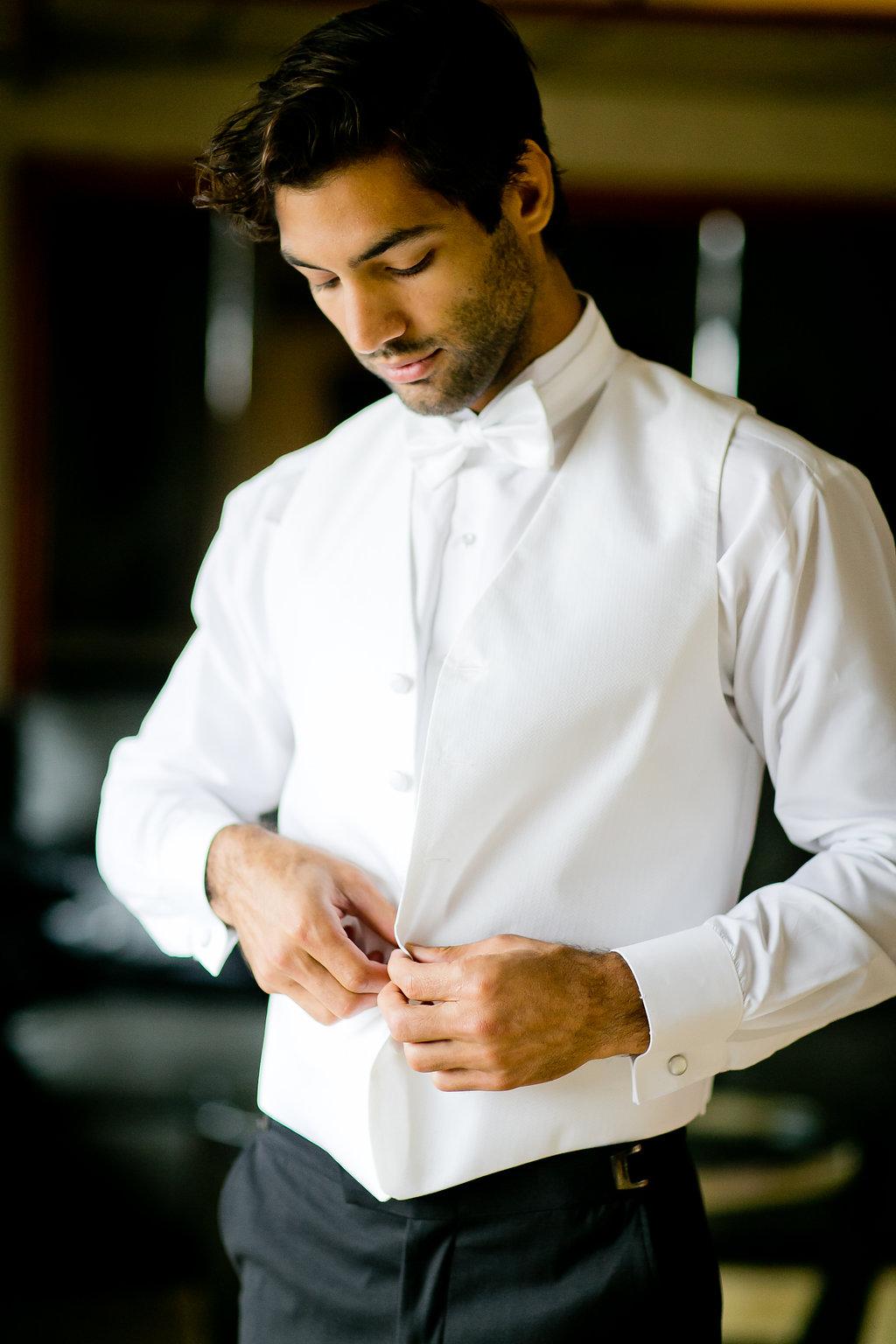 Classy Groom Tux - Yacht Wedding Venues