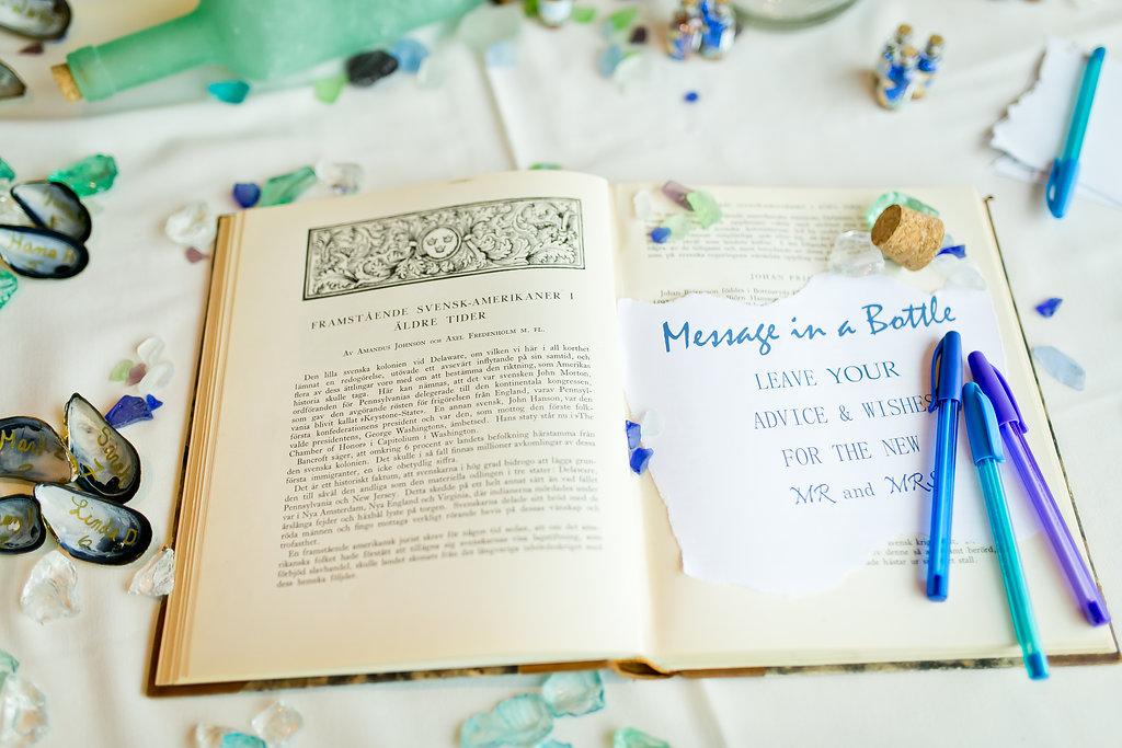 Unique Wedding Guest Book - Yacht Wedding Venues