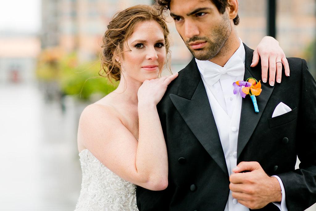 Gorgeous Rainy Day Wedding Photos - Yacht Wedding Venues