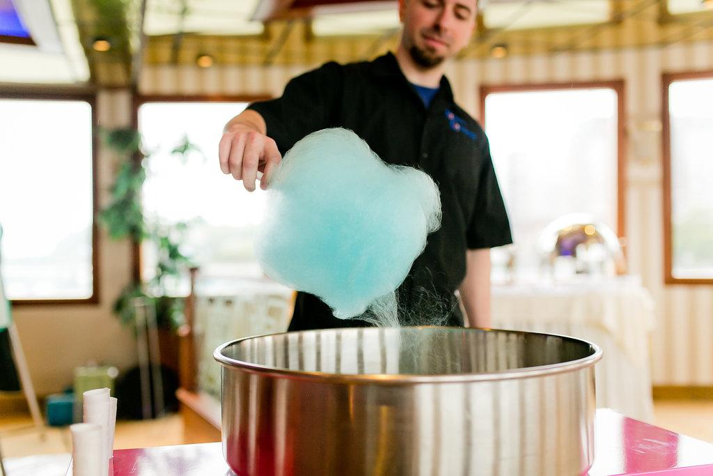 Unique Wedding Ideas - Cotton Candy Wedding Bar - Yacht Wedding Venues