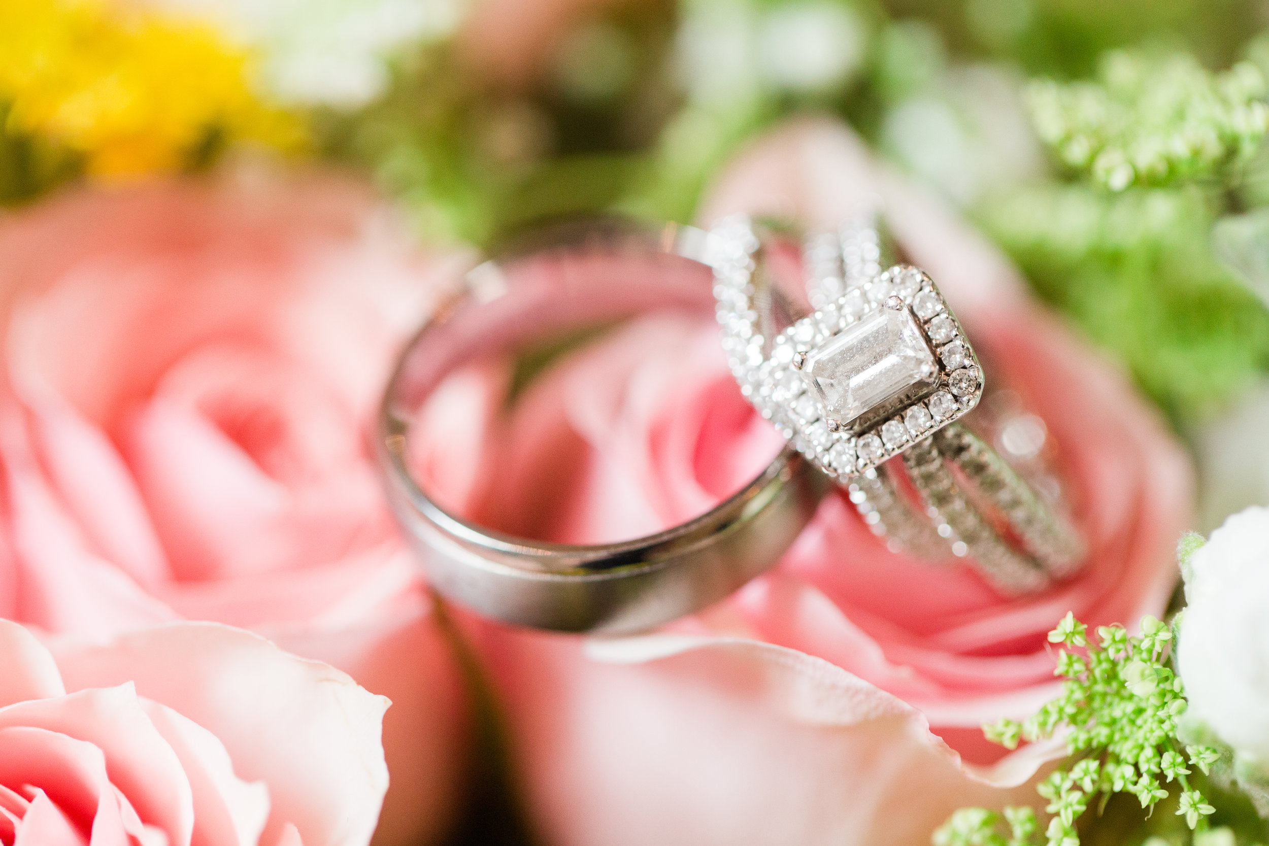Unique Halo Engagement Ring - West Virginia Wedding Photographer - Wedding Venue