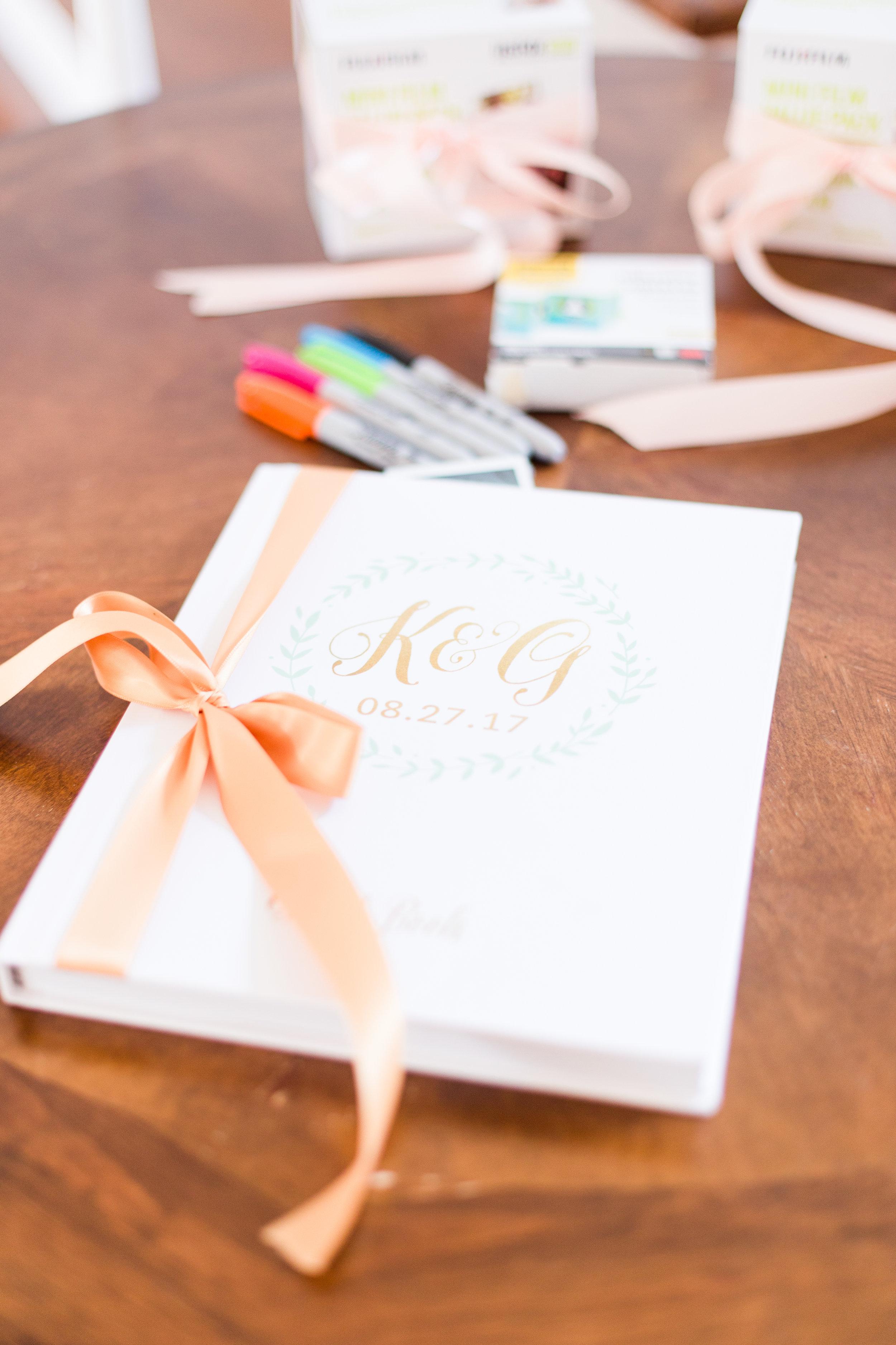 Wedding Guest Books - West Virginia Wedding Photographer - Wedding Venue