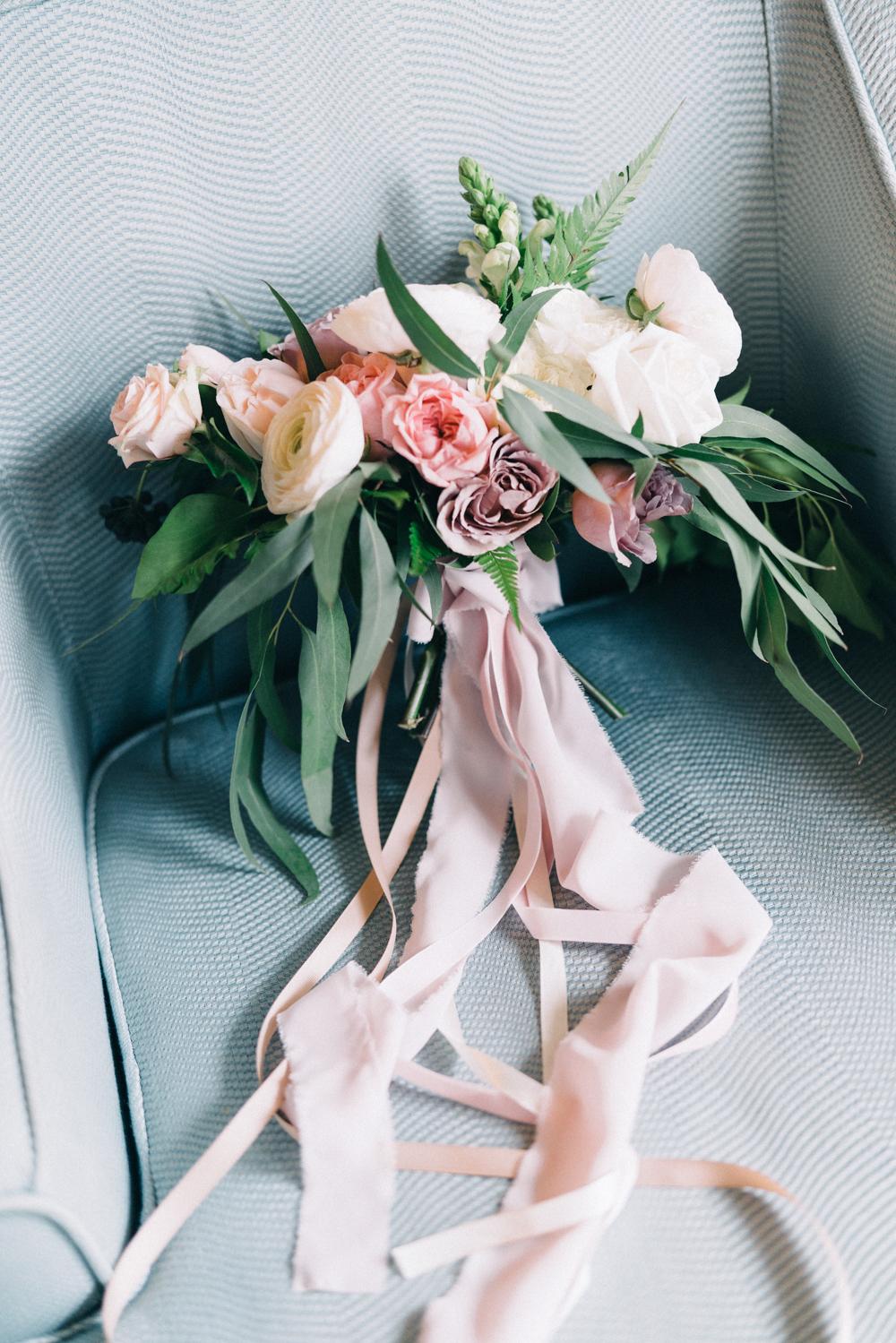 Gorgeous Wedding Bouquets - An Intimate Ritz Carlton Dubai Wedding