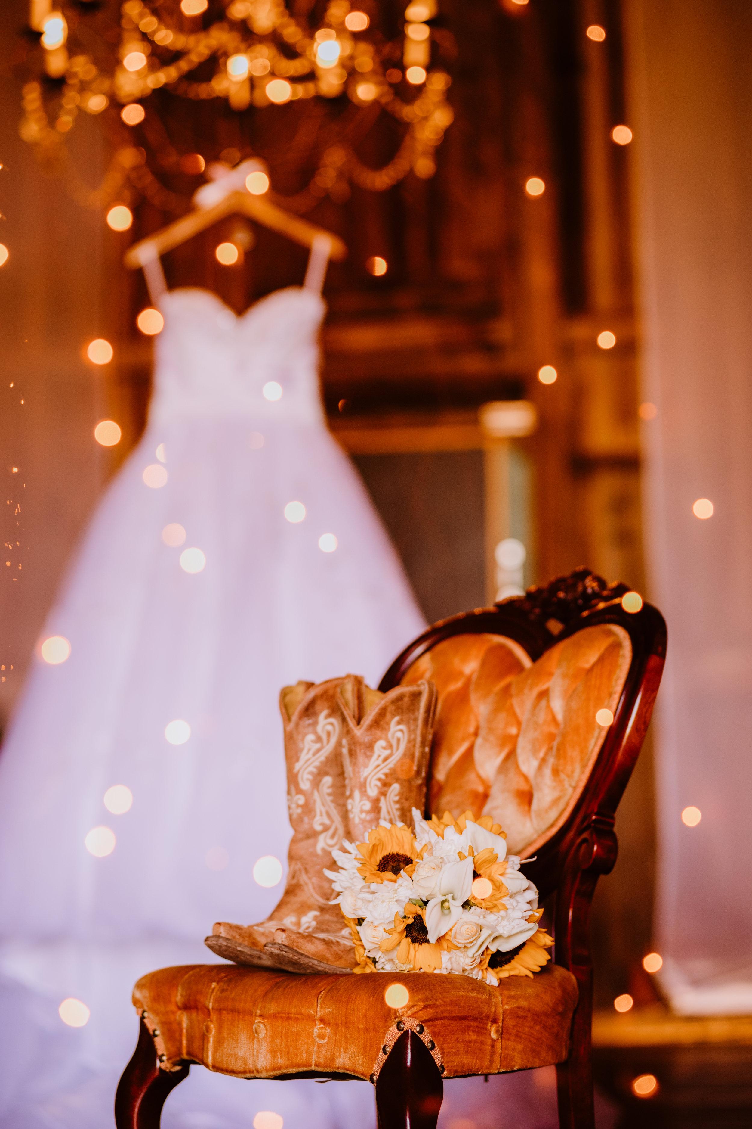 Cowgirl Wedding Shoes - A Pennsylvania Barn Swallow Farm Wedding