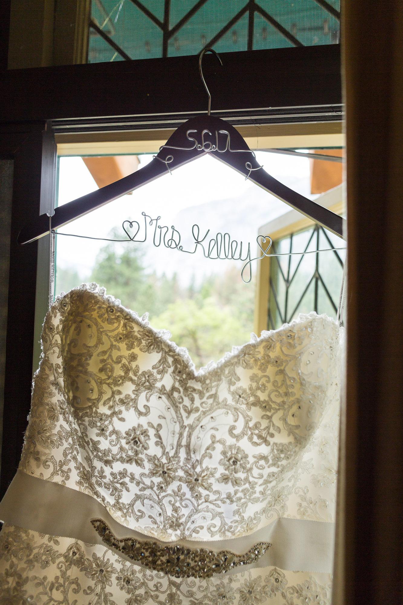 Embellished Wedding Dress - Gorgeous Yosemite Wedding Venues