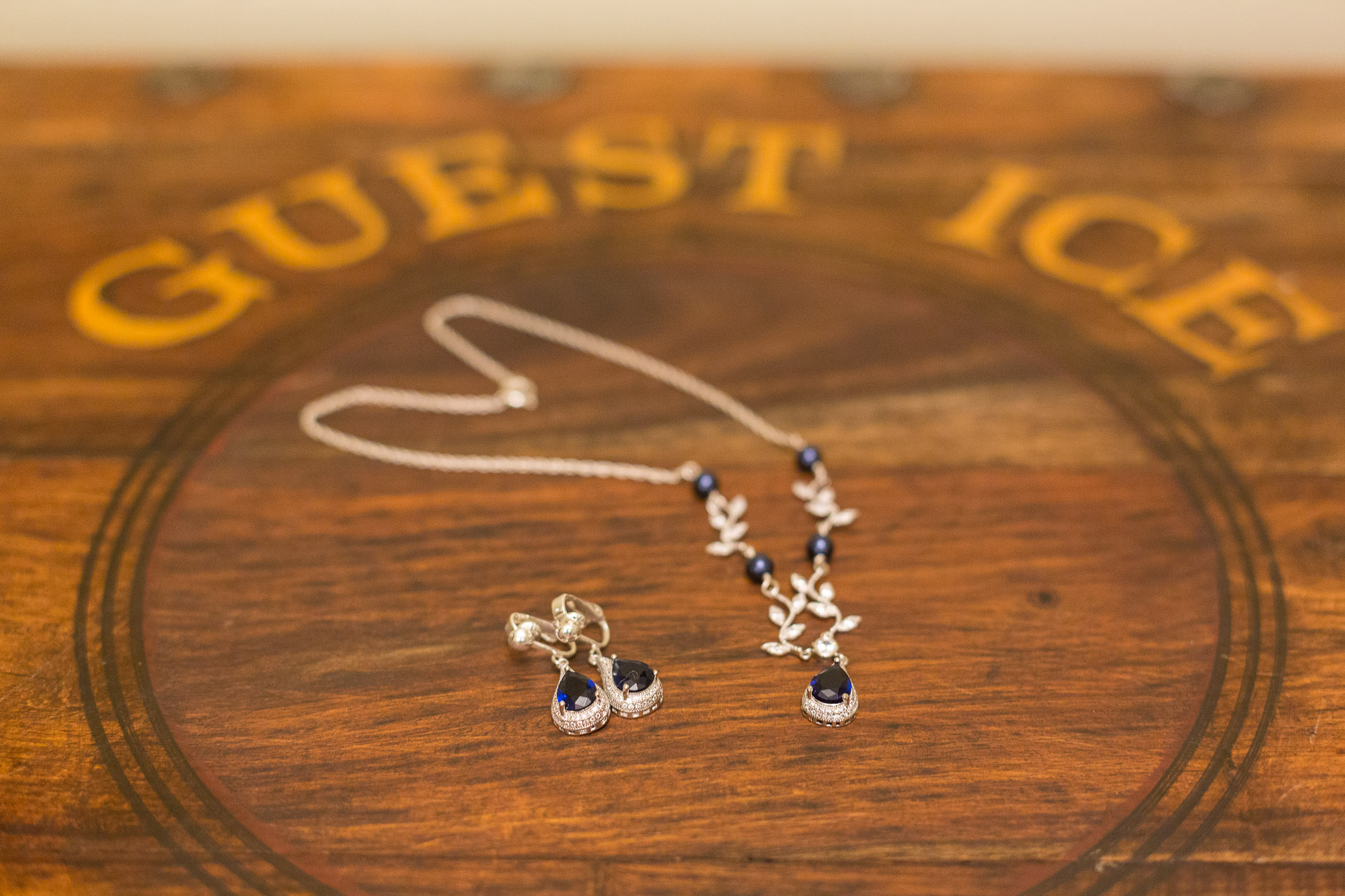 Gorgeous Blue Bridal Jewelry - Gorgeous Yosemite Wedding Venues