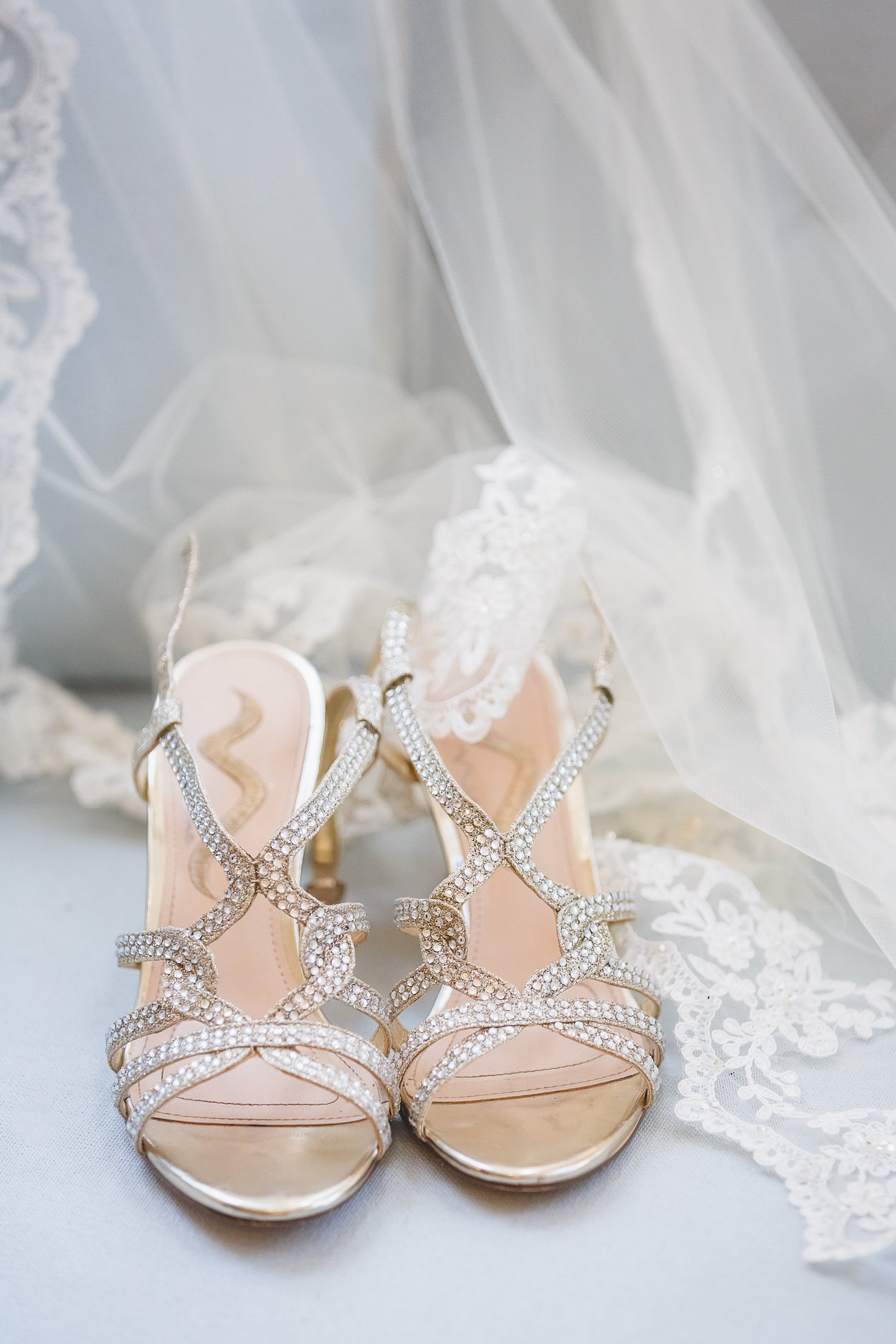 Silver Wedding Shoes - Science Museum of Virginia Wedding