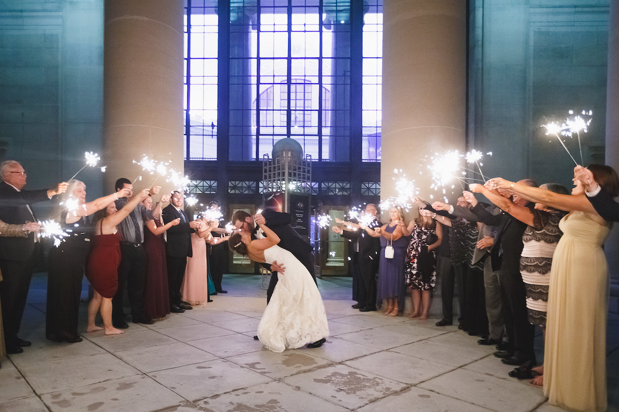 Gorgeous Wedding Photos - Science Museum of Virginia Wedding