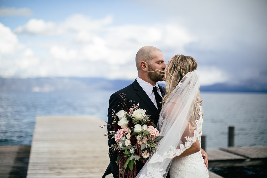 Gorgeous Lake Tahoe Wedding - The Overwhelmed Bride Wedding Blog