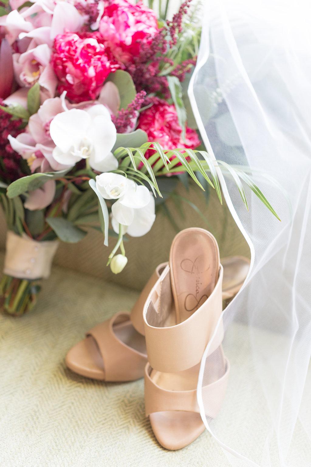 Gorgeous Nude Wedding Heels - Musgrove Plantation Georgia Wedding Venue