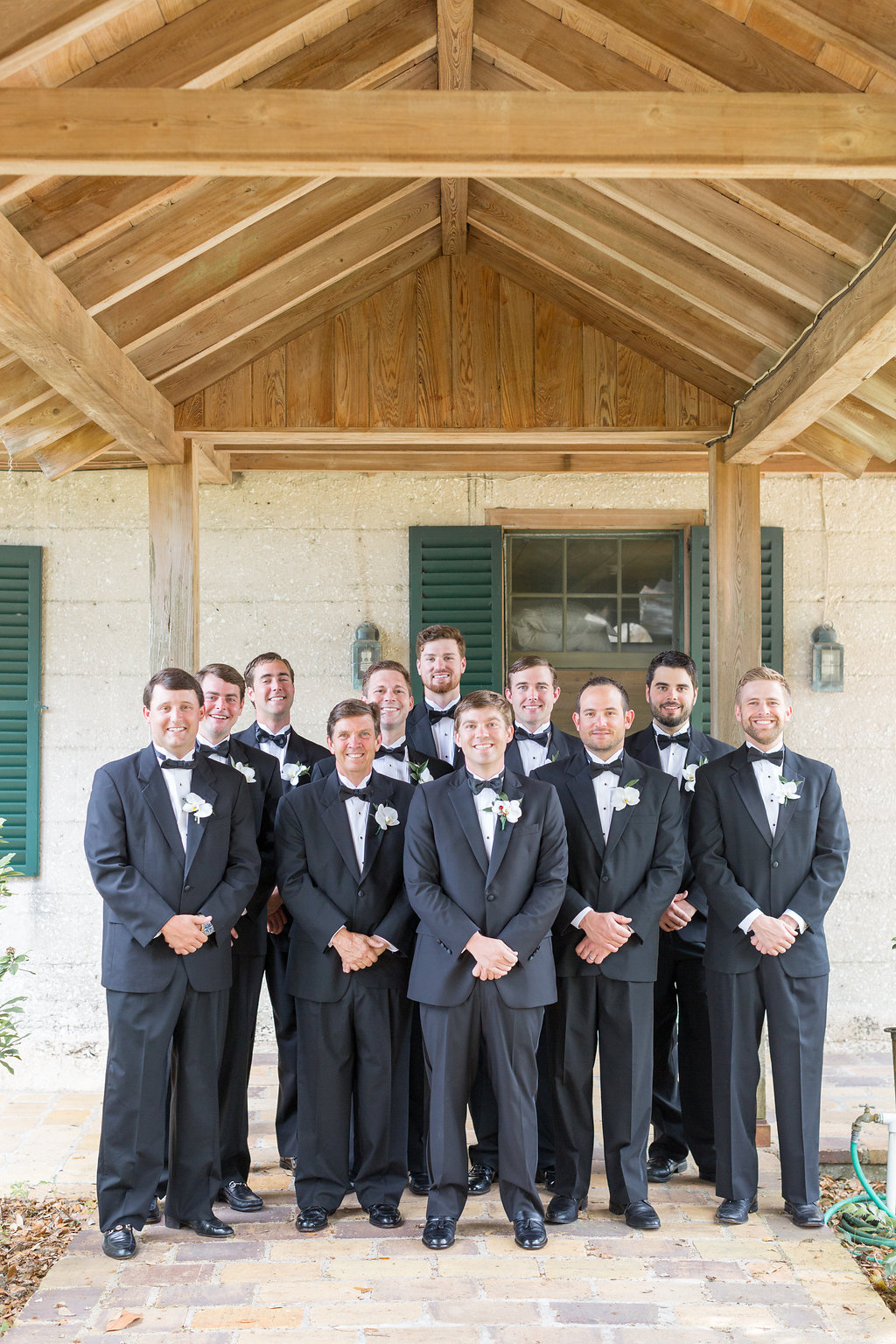 Groomsmen Photos - Musgrove Plantation Georgia Wedding Venue
