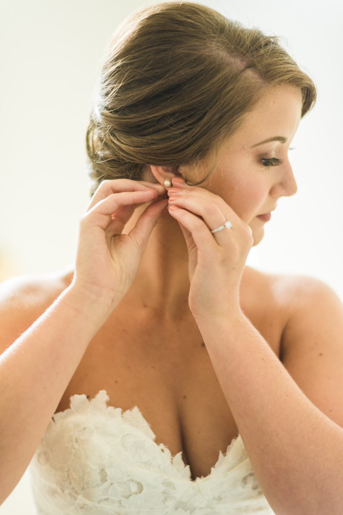 Lace Wedding Dress - A Philander Chase Knox Estate Pennsylvania Wedding