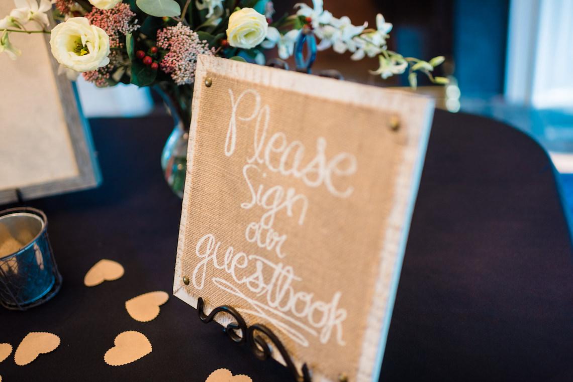 Wooden Wedding Signs - A Philander Chase Knox Estate Pennsylvania Wedding