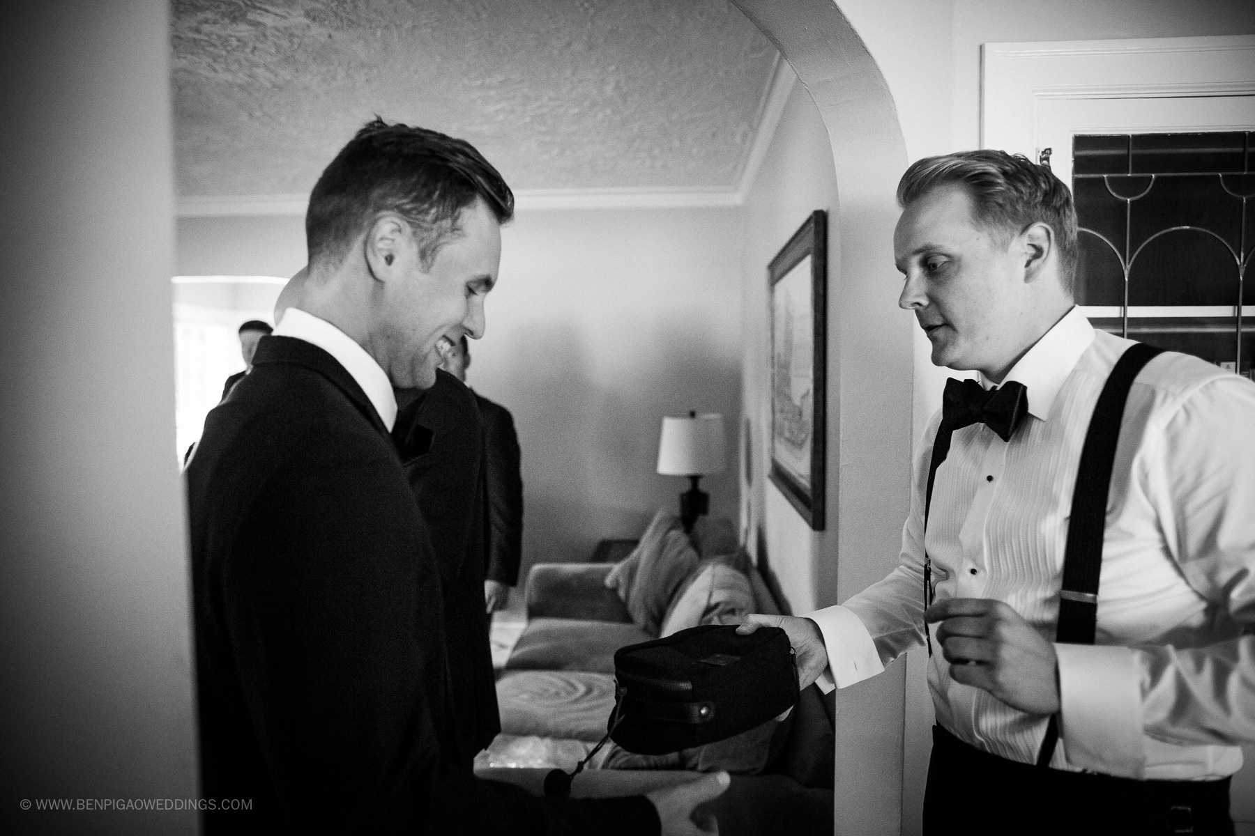Groom Tux Online Rentals - Portland, Oregon Waverley Country Club Wedding