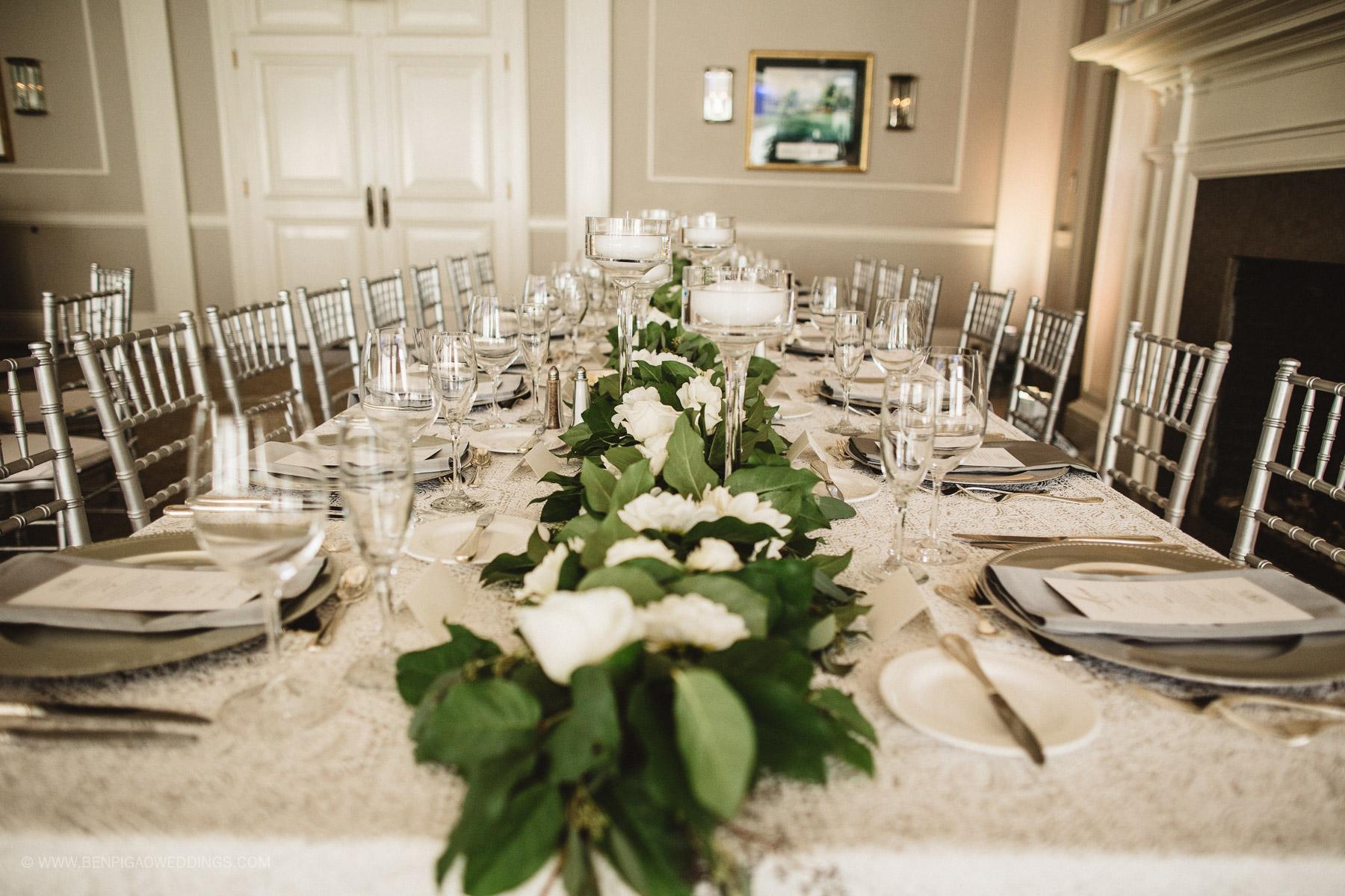 Gorgeous Simple Wedding Centerpieces - Portland, Oregon Waverley Country Club Wedding