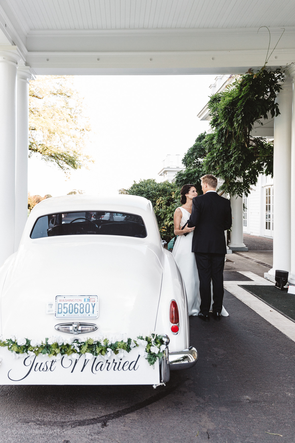 Getaway Wedding Cars - Portland, Oregon Waverley Country Club Wedding