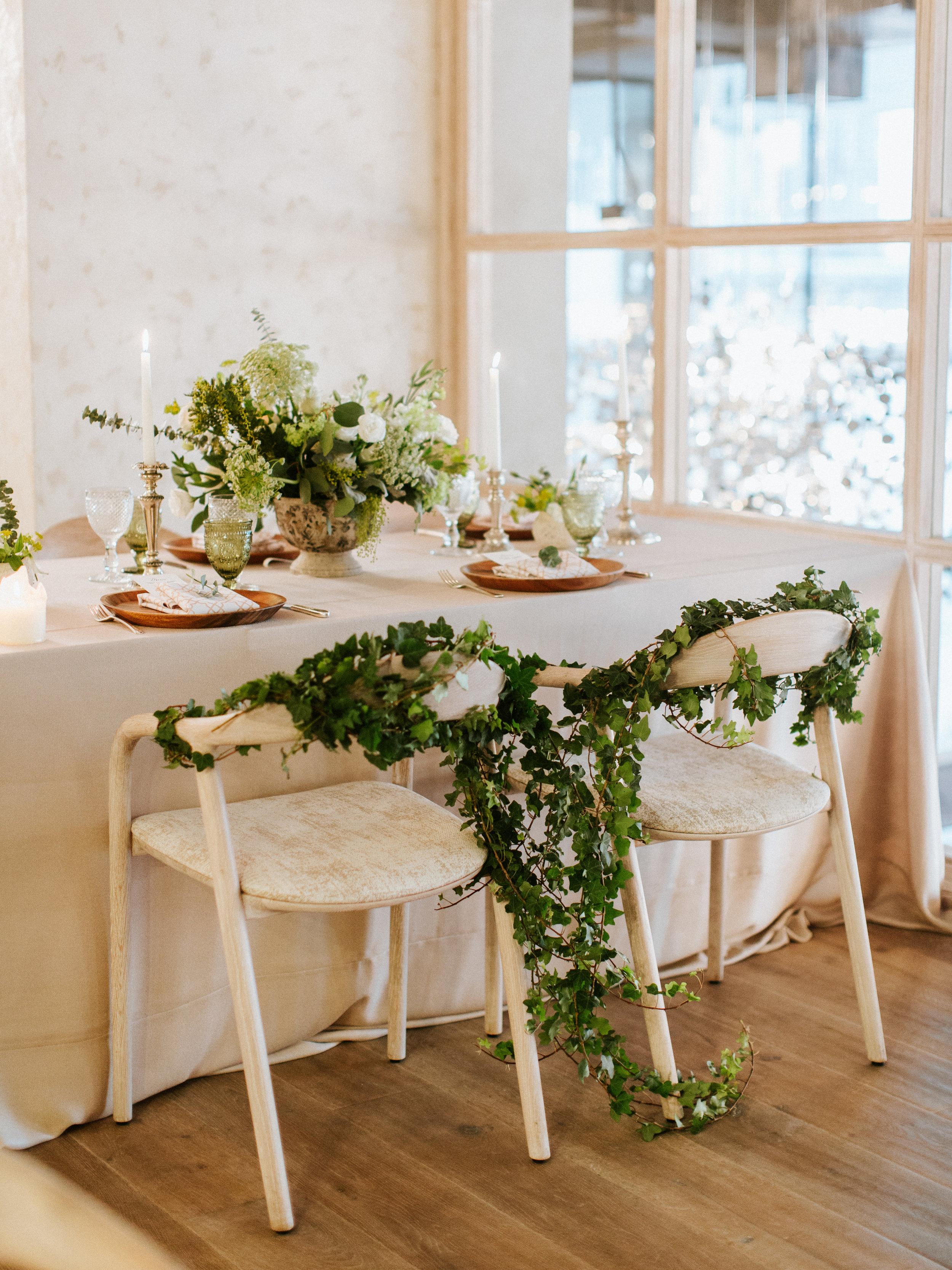 Gorgeous Vintage Wedding Decor - Blue Blanc Dubai Wedding