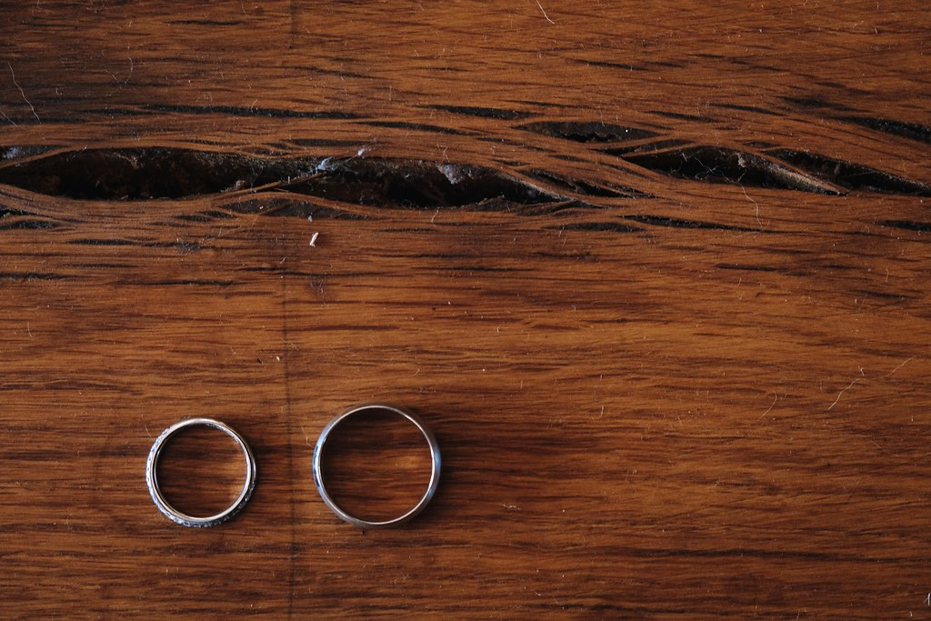Groom's Rings — Farm-Forest Wedding
