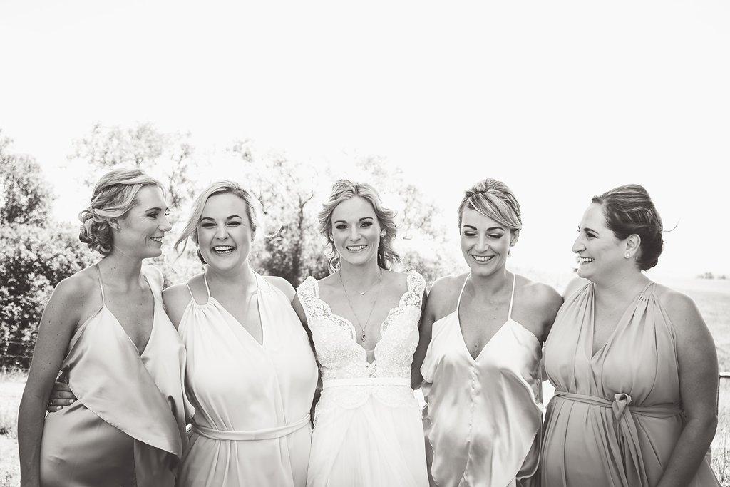 Gorgeous Simple Wedding Dress - Farm-Forest Wedding - The Overwhelmed Bride Wedding Blog