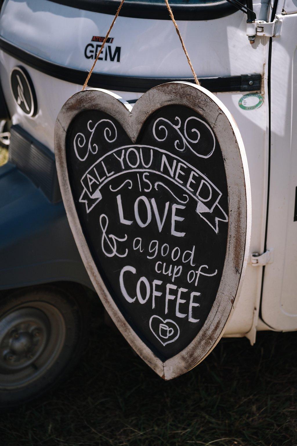 Chalkboard Wedding Signs - Farm-Forest Wedding - The Overwhelmed Bride Wedding Blog