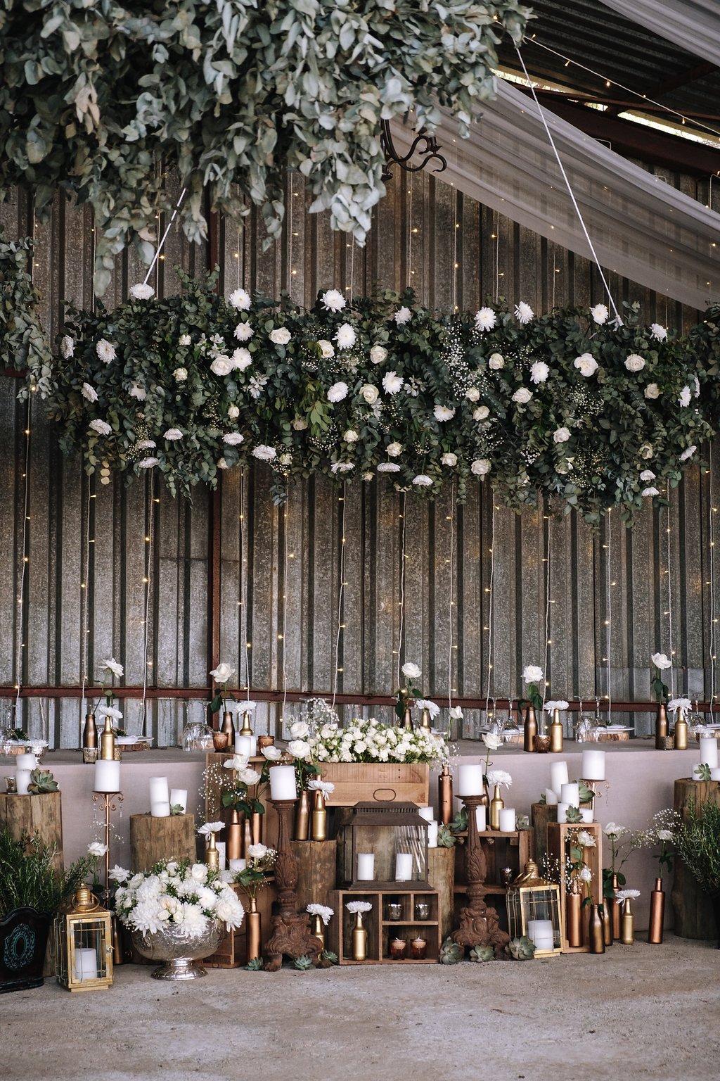Gorgeous Barn Wedding - Farm-Forest Wedding - The Overwhelmed Bride Wedding Blog