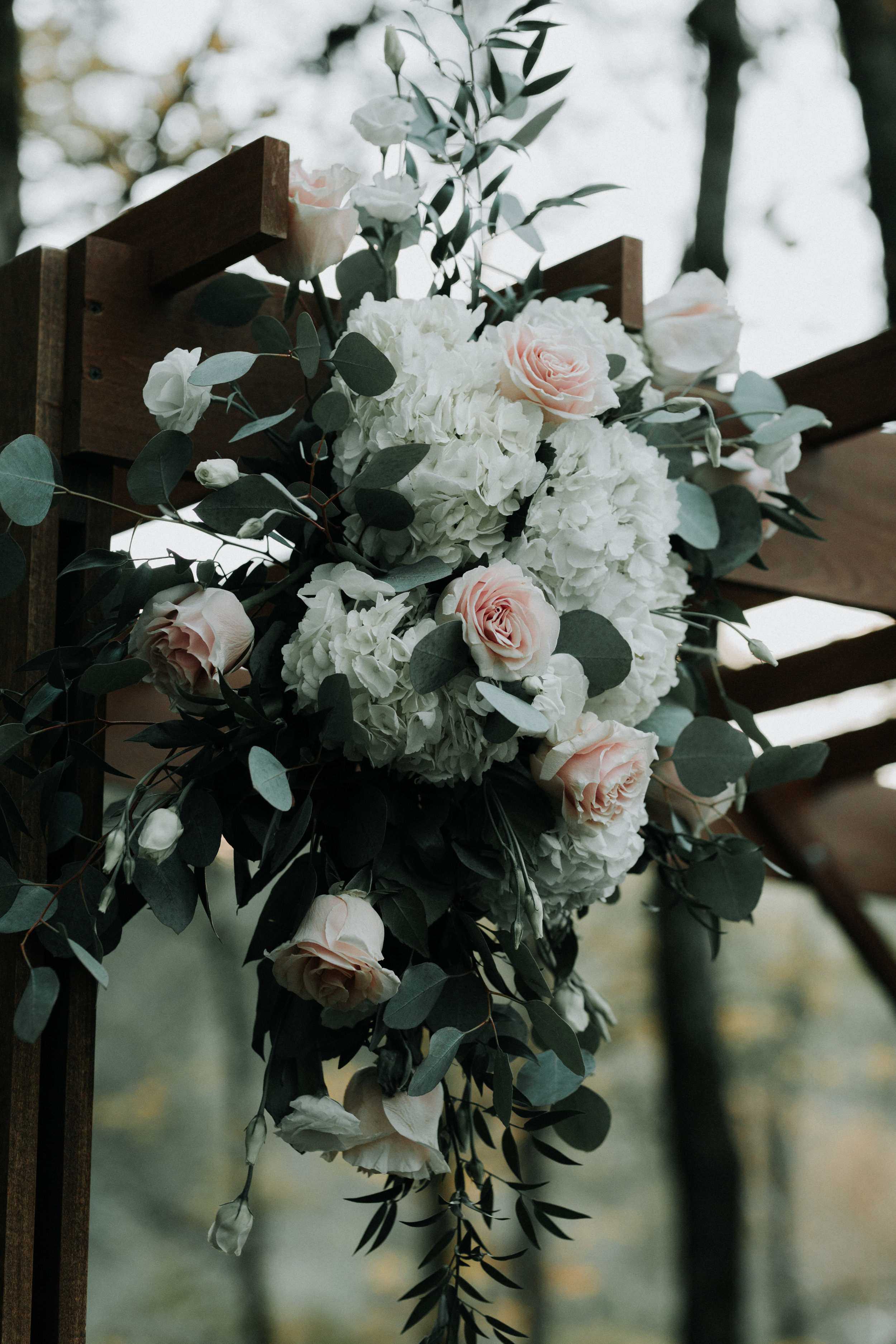 Gorgeous Wedding Ceremony Arch - Dara's Garden Knoxville East Tennessee Wedding — The Overwhelmed Bride Wedding Blog
